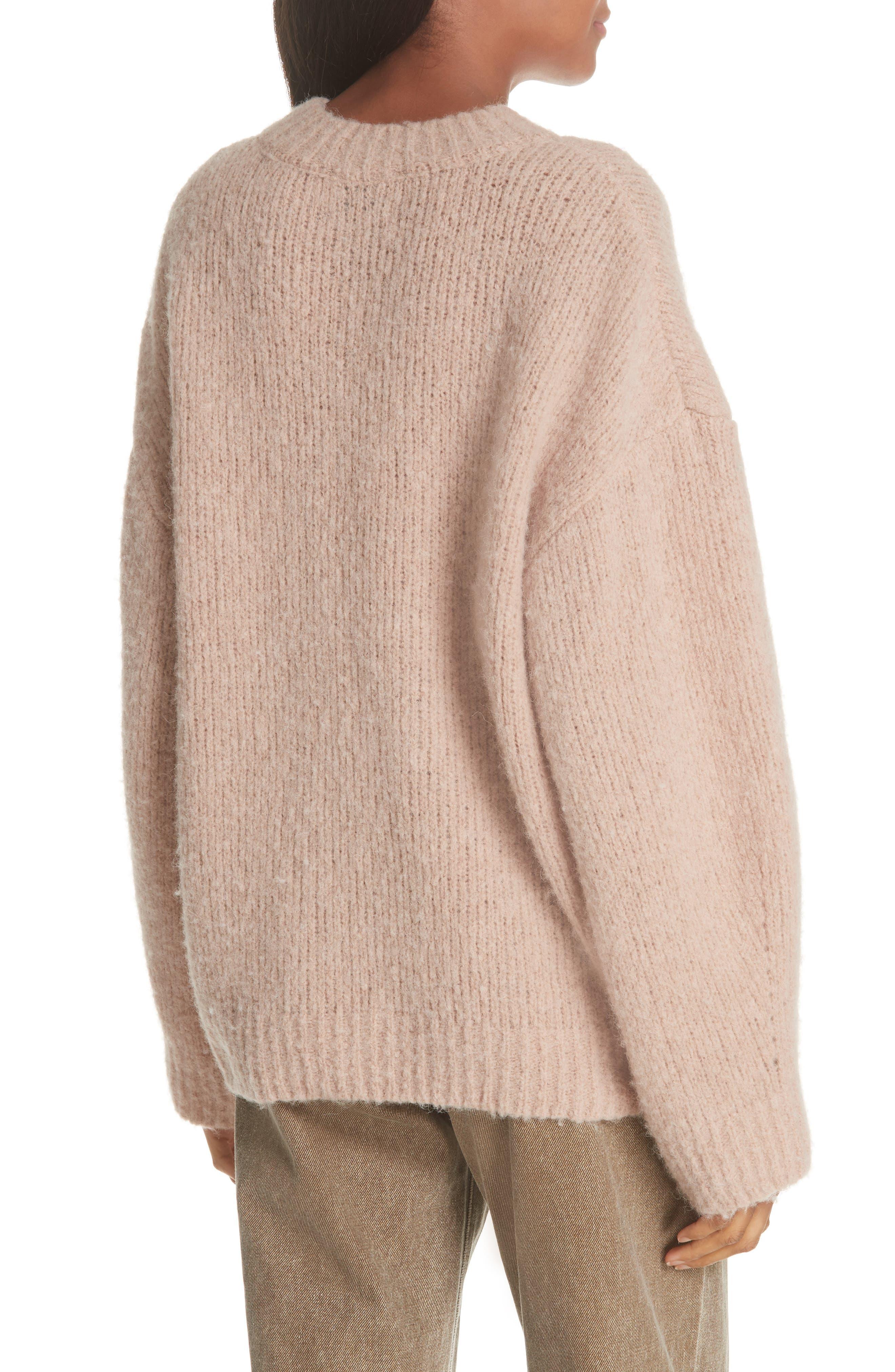 Tuesday Wool & Alpaca Blend Sweater in Blush