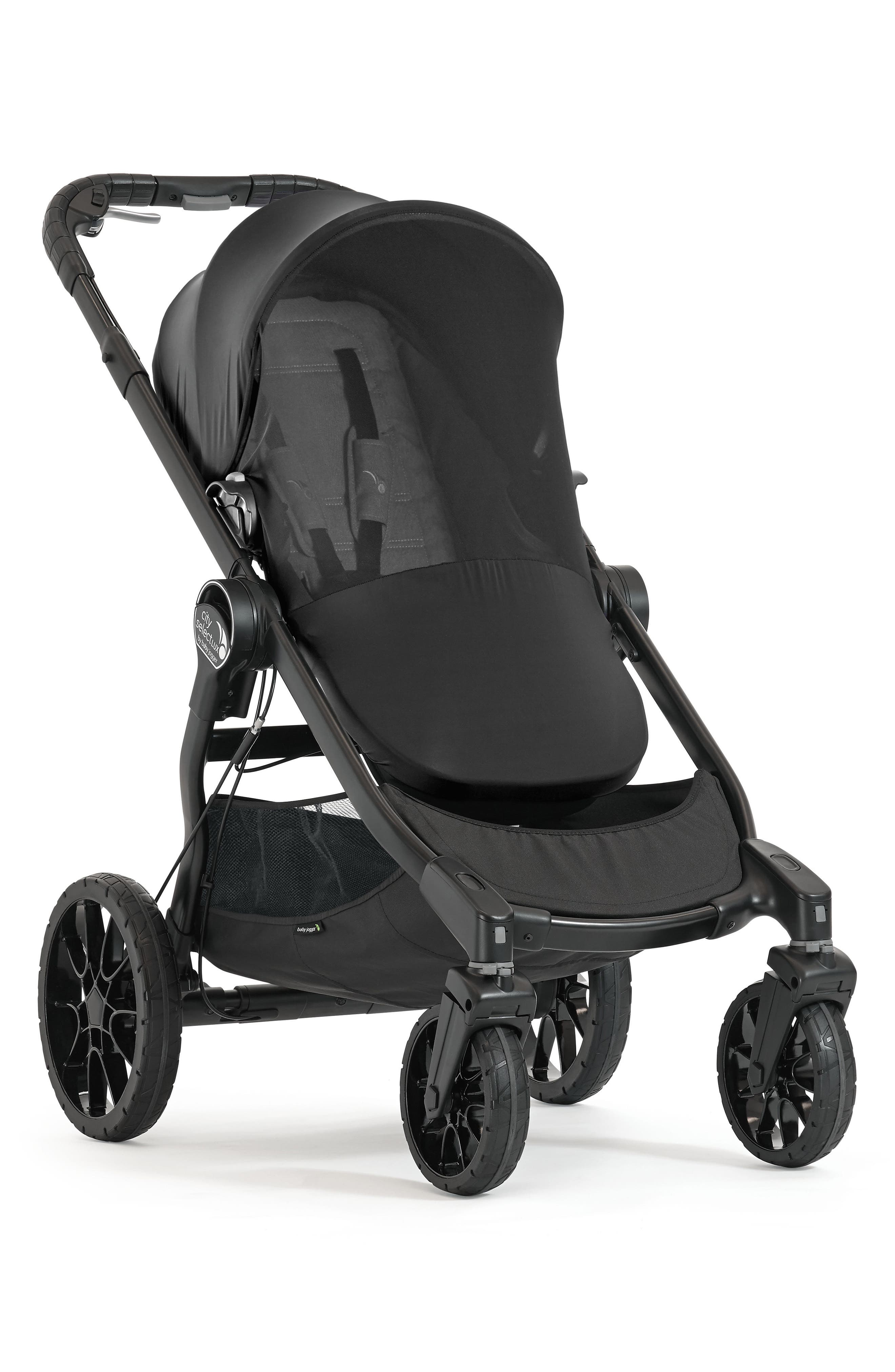 Bug Canopy for City Select<sup>®</sup> & City Select<sup>®</sup> LUX Strollers, Main, color, BLACK