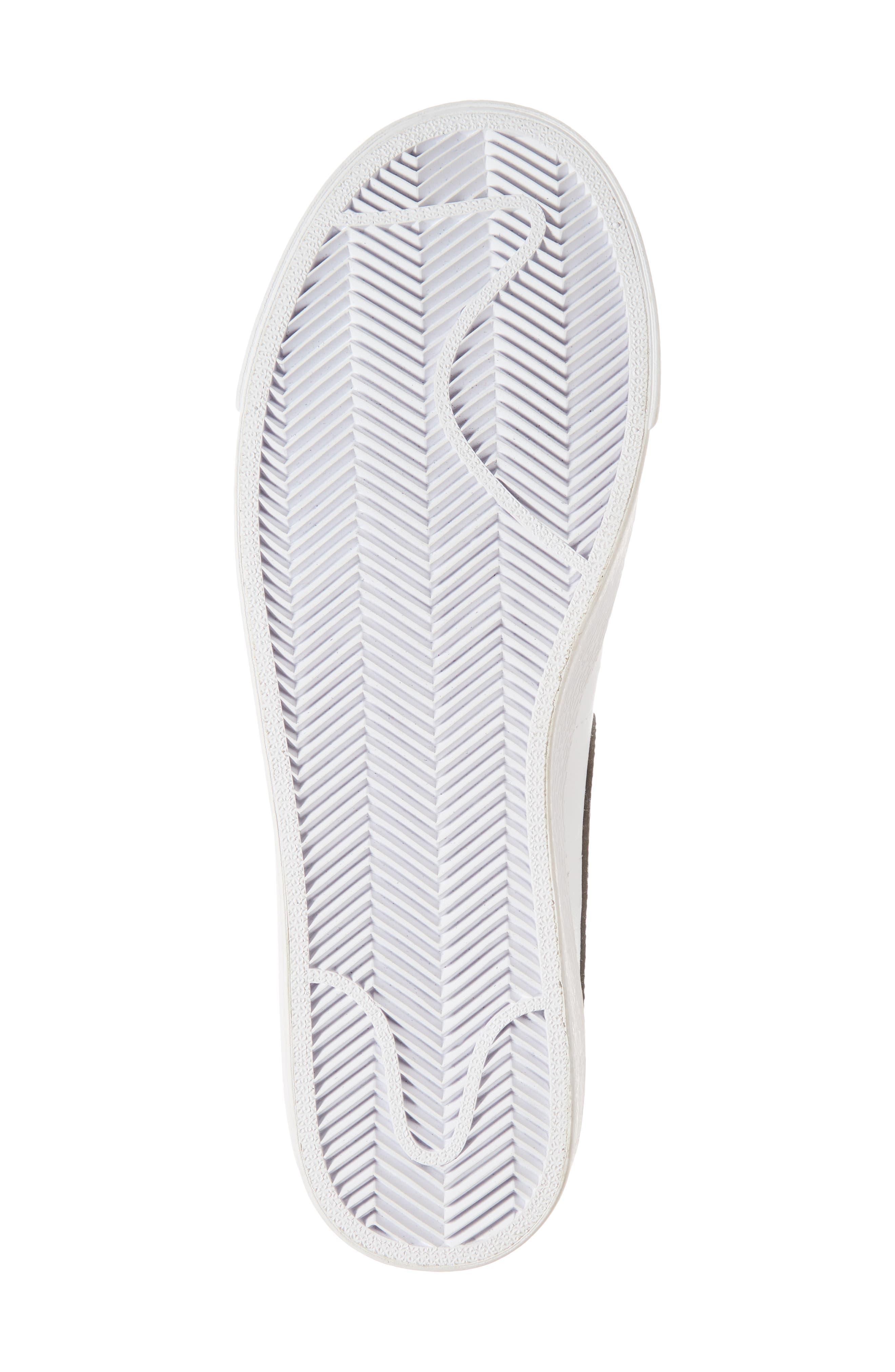 Blazer Low Essential Sneaker,                             Alternate thumbnail 6, color,                             100