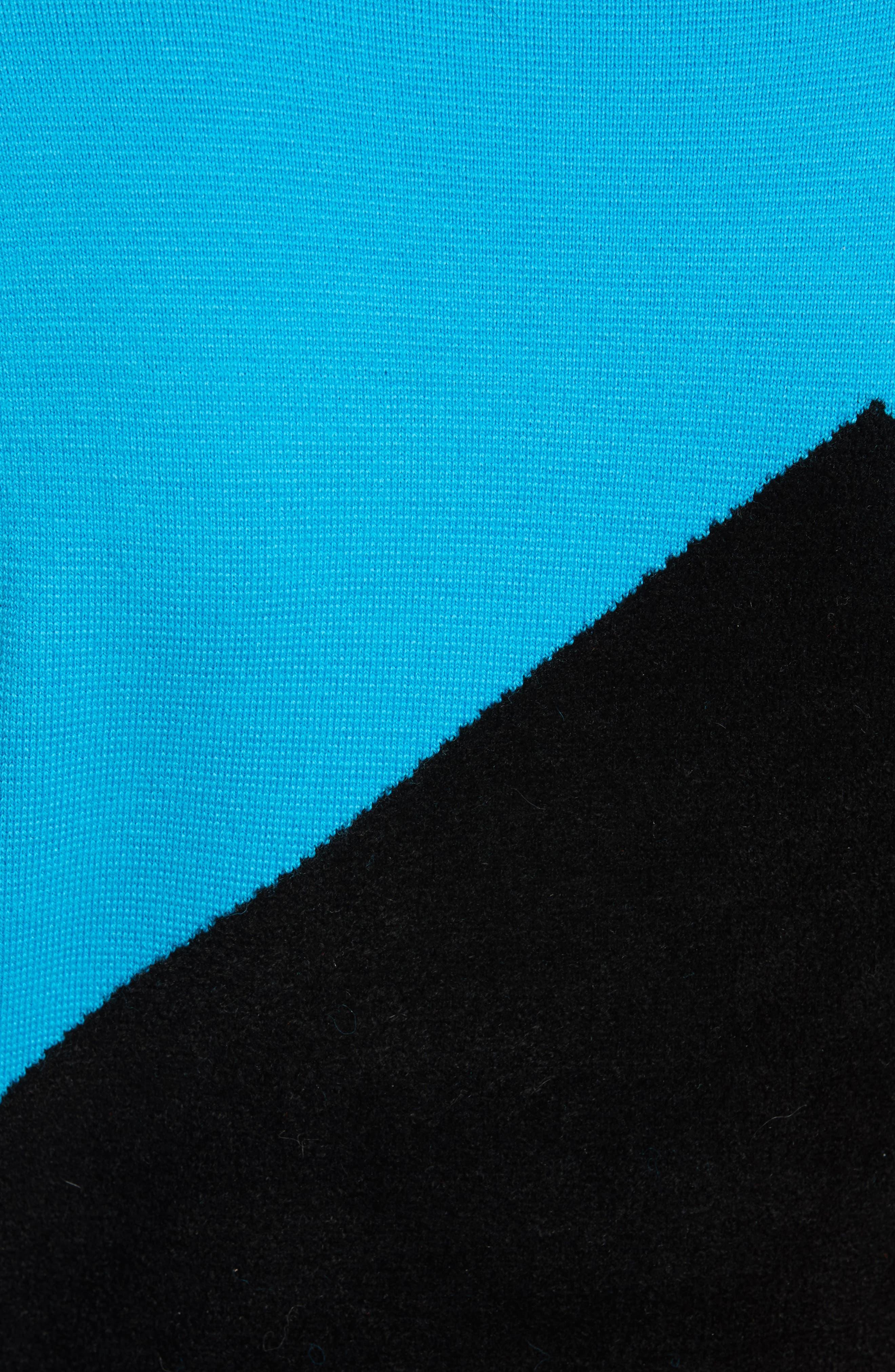 Crewneck Flare Knit Dress,                             Alternate thumbnail 5, color,                             252
