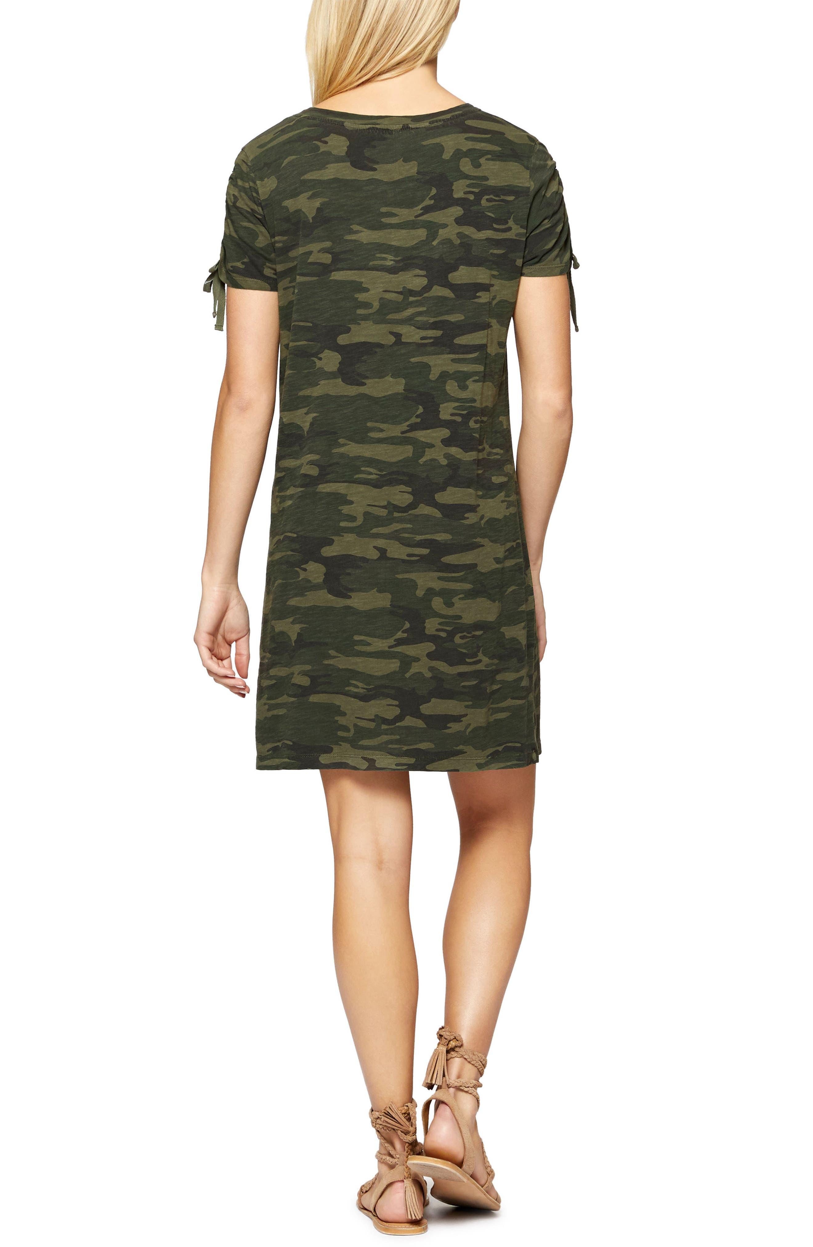 Ojai T-Shirt Dress,                             Alternate thumbnail 2, color,                             MOTHER NATURE CAMO