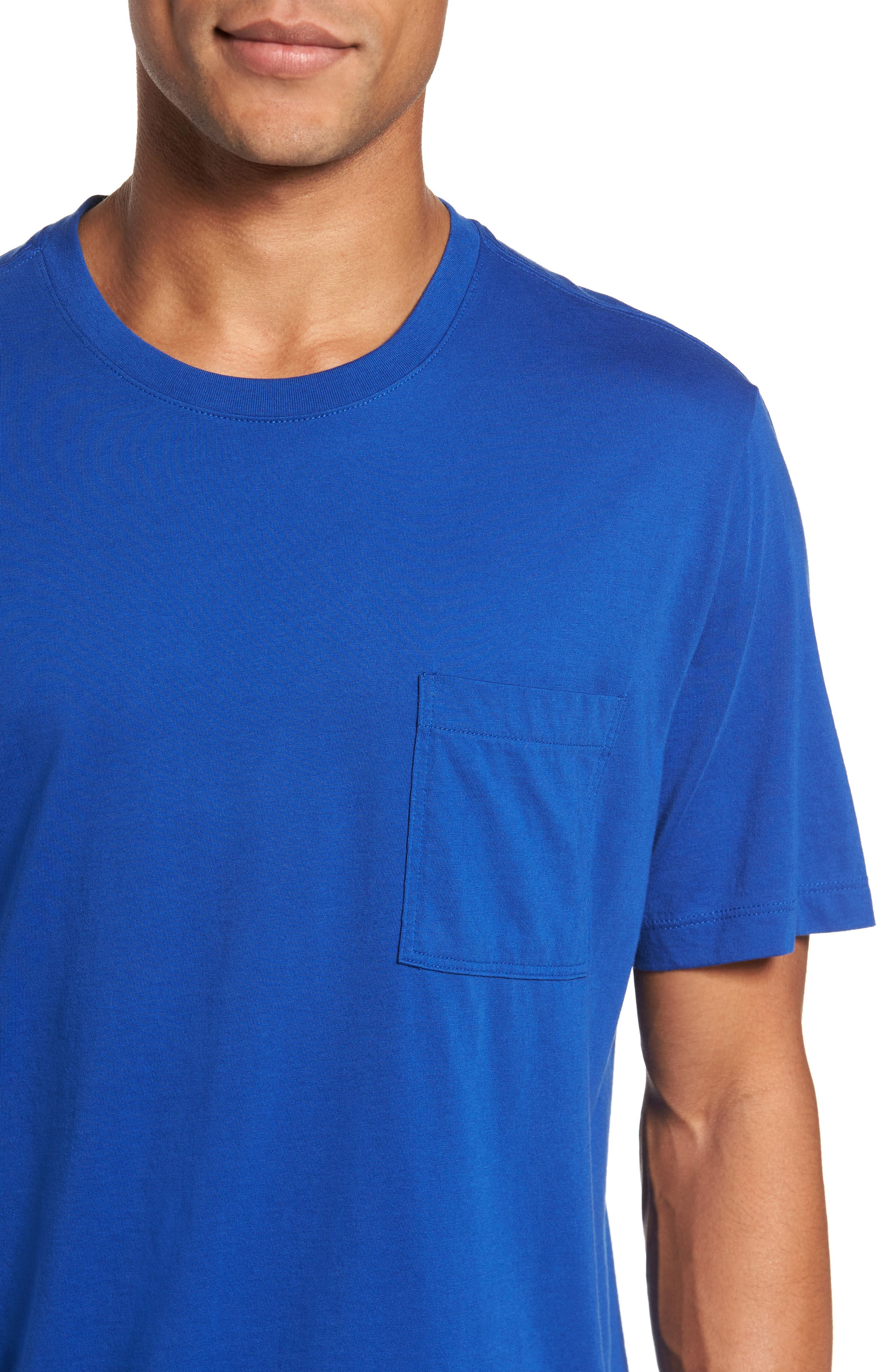 Classic Fit Pocket T-Shirt,                             Alternate thumbnail 4, color,                             413