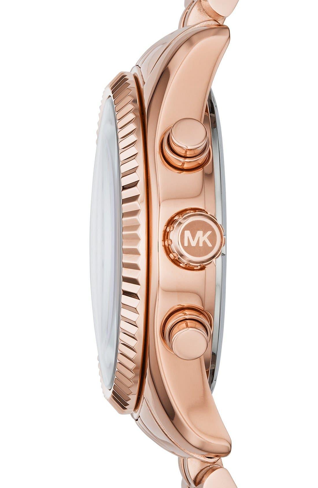 'Lexington' Chronograph Bracelet Watch, 38mm,                             Alternate thumbnail 22, color,