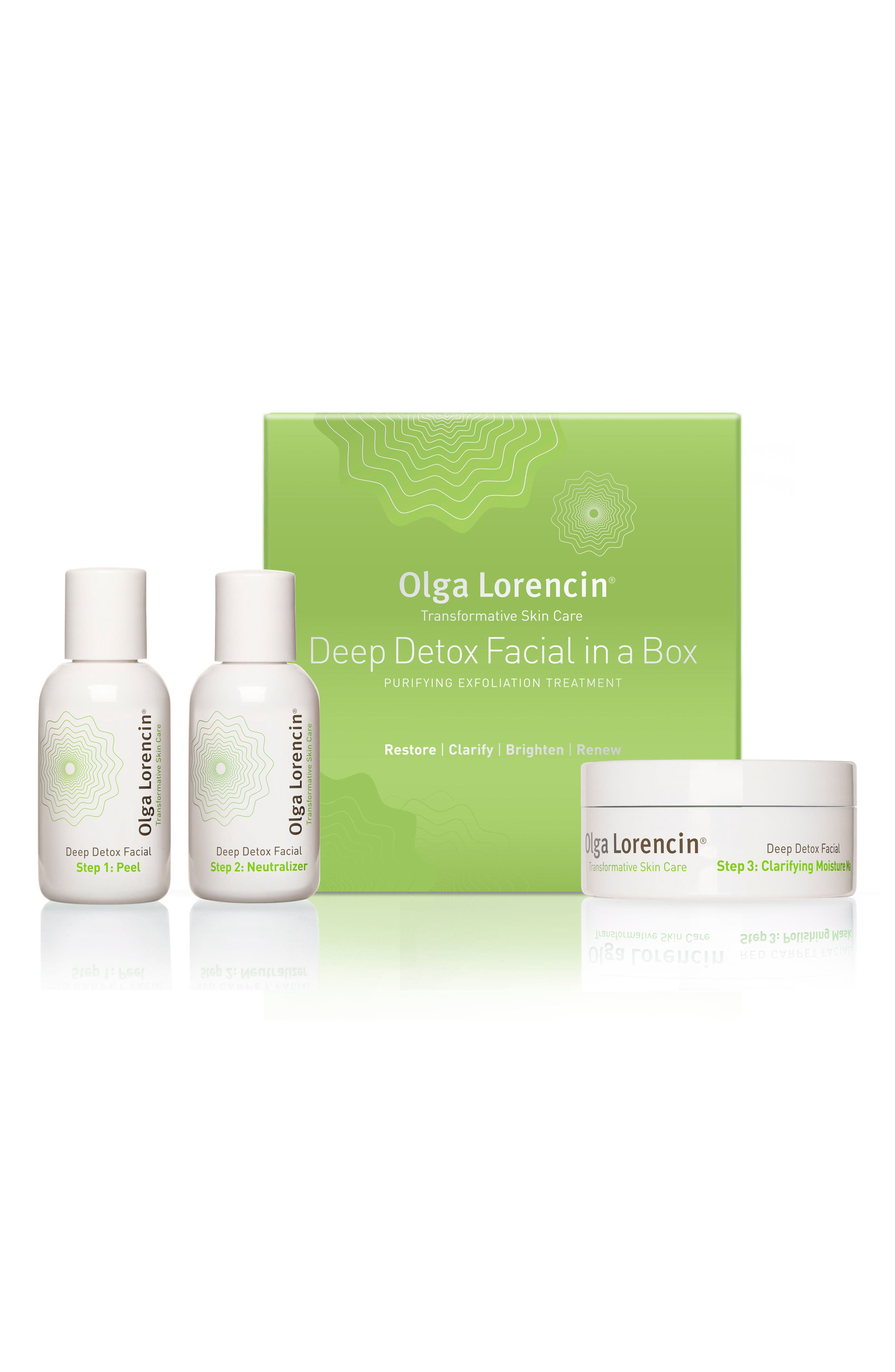 Deep Detox Facial in a Box,                             Main thumbnail 1, color,                             NO COLOR