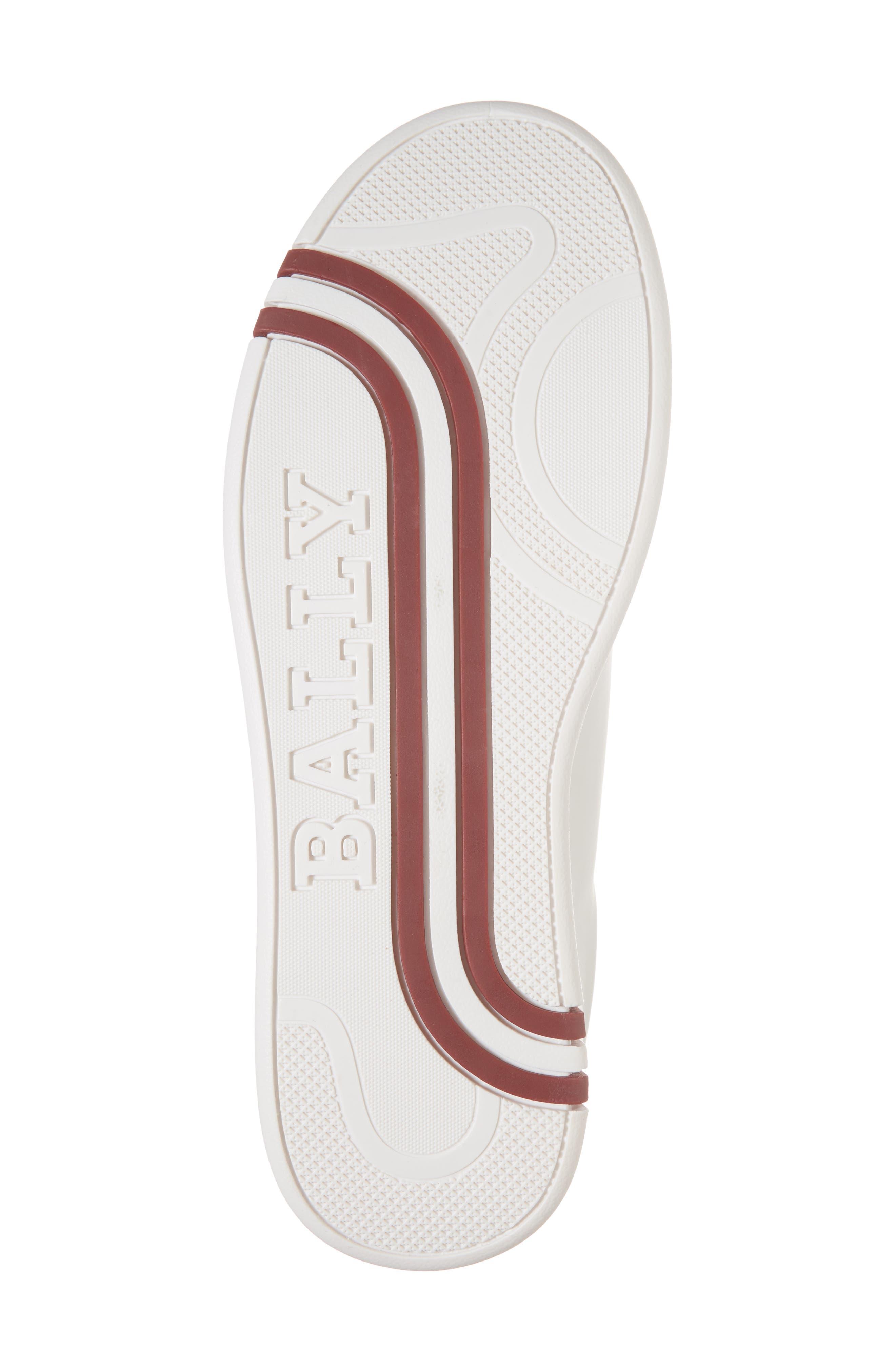 Winston Low Top Sneaker,                             Alternate thumbnail 6, color,                             WHITE