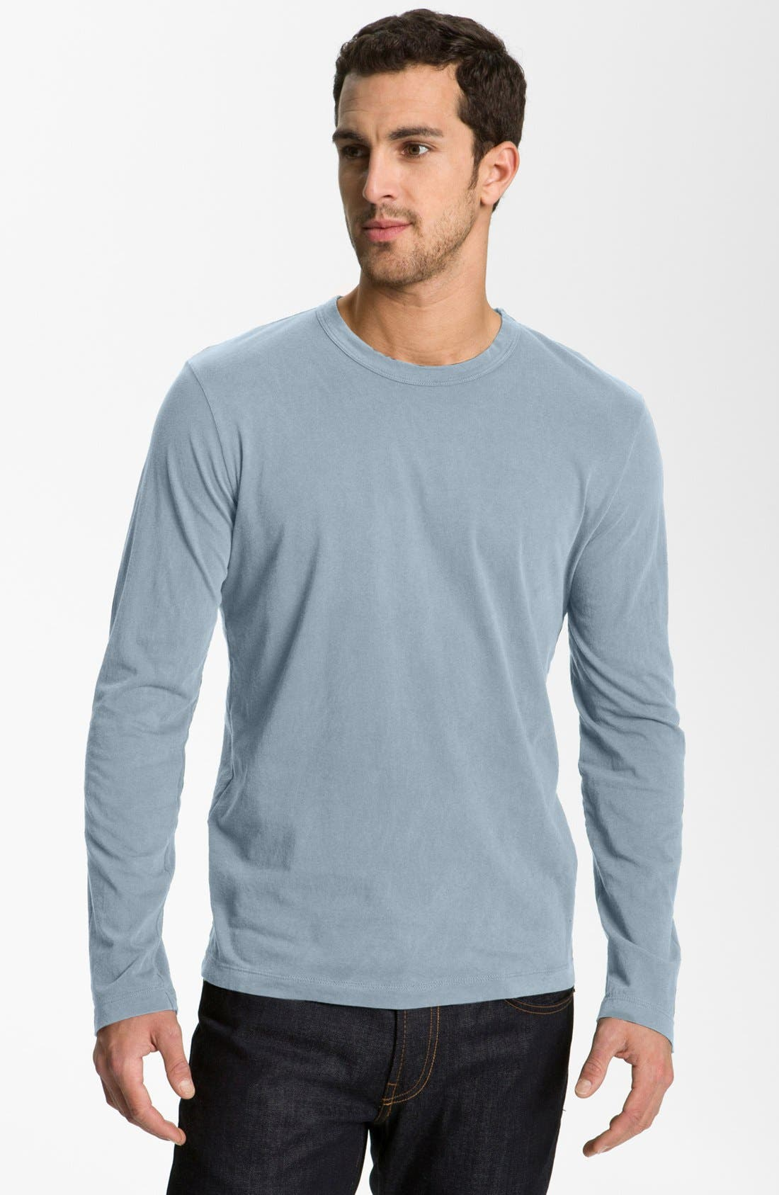 Long Sleeve Crewneck T-Shirt,                             Main thumbnail 28, color,