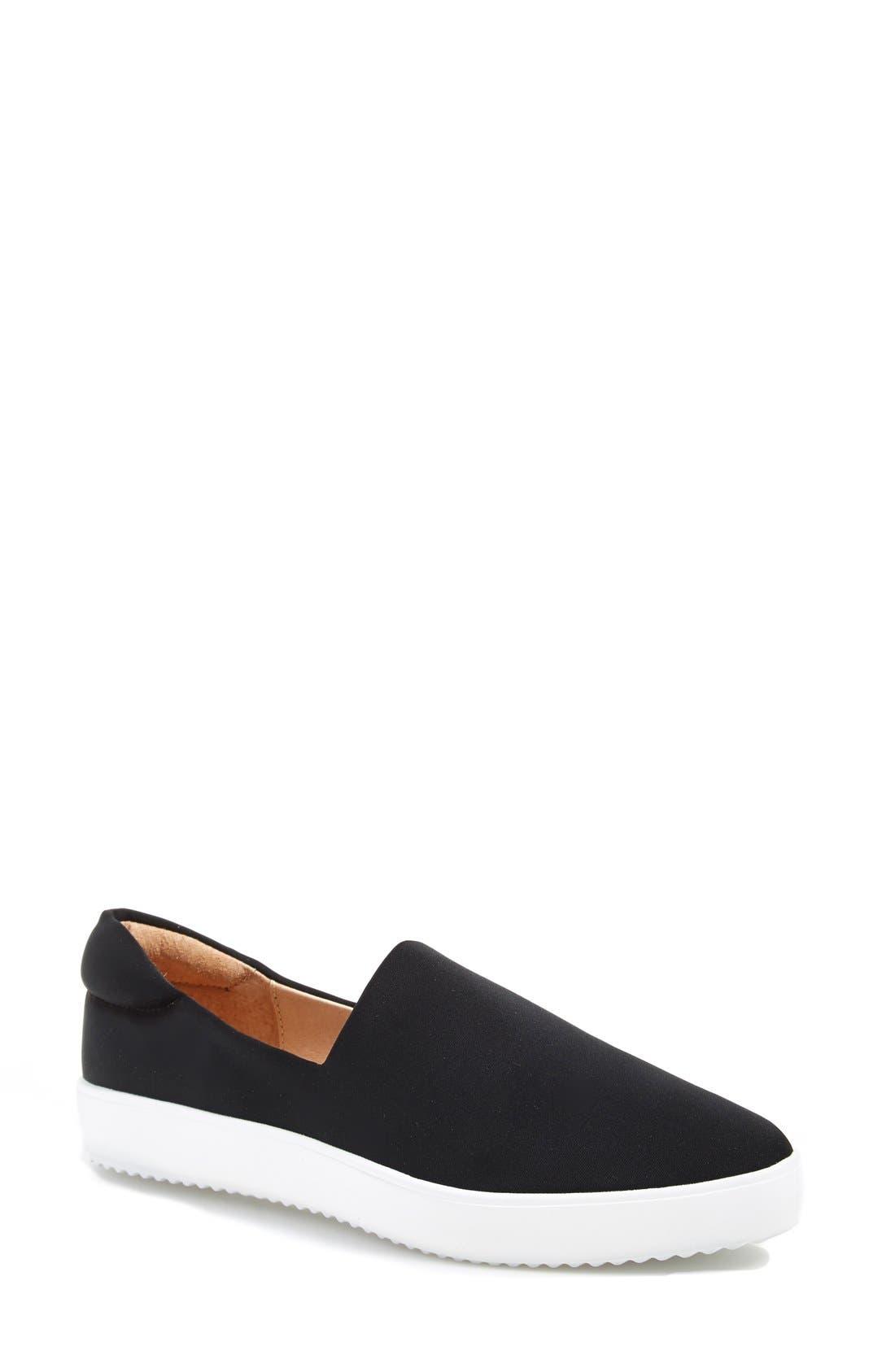 'Dibbie' Slip-On Sneaker, Main, color, 001