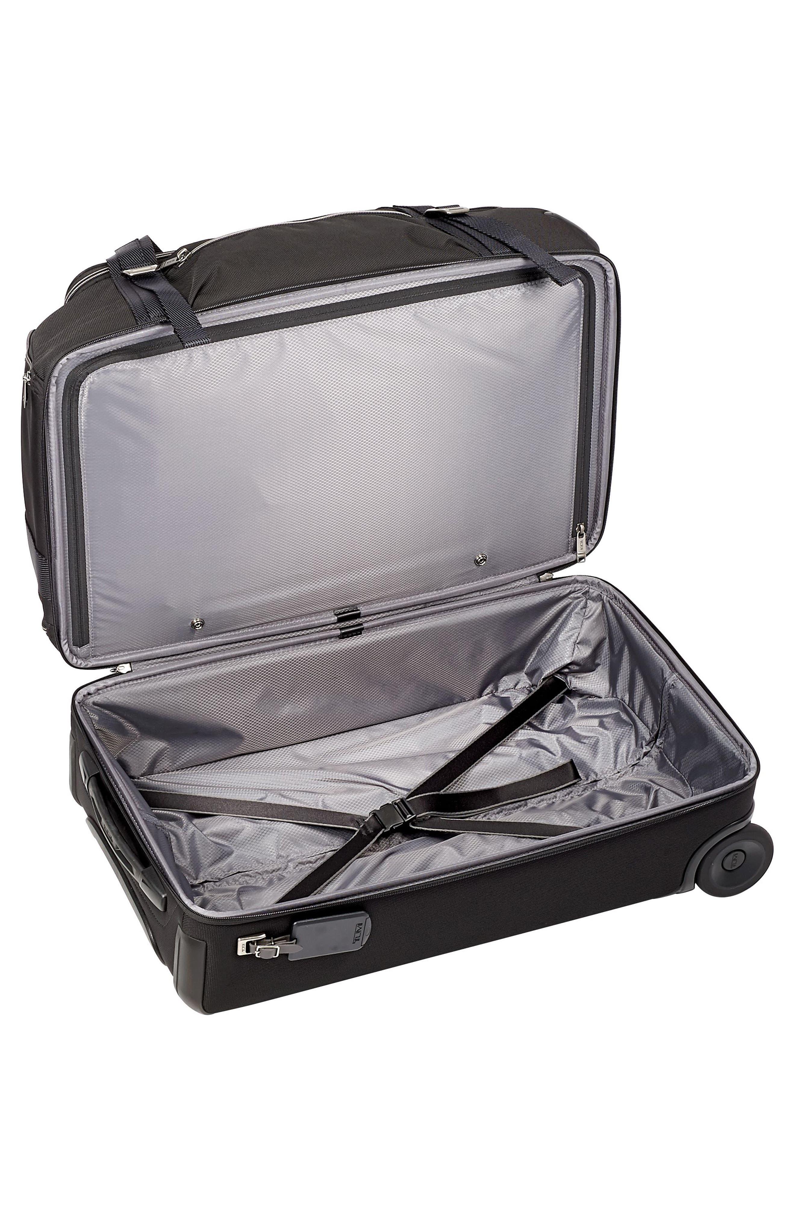 Merge 26-Inch Rolling Duffel Case,                             Alternate thumbnail 3, color,                             BLACK CONTRAST