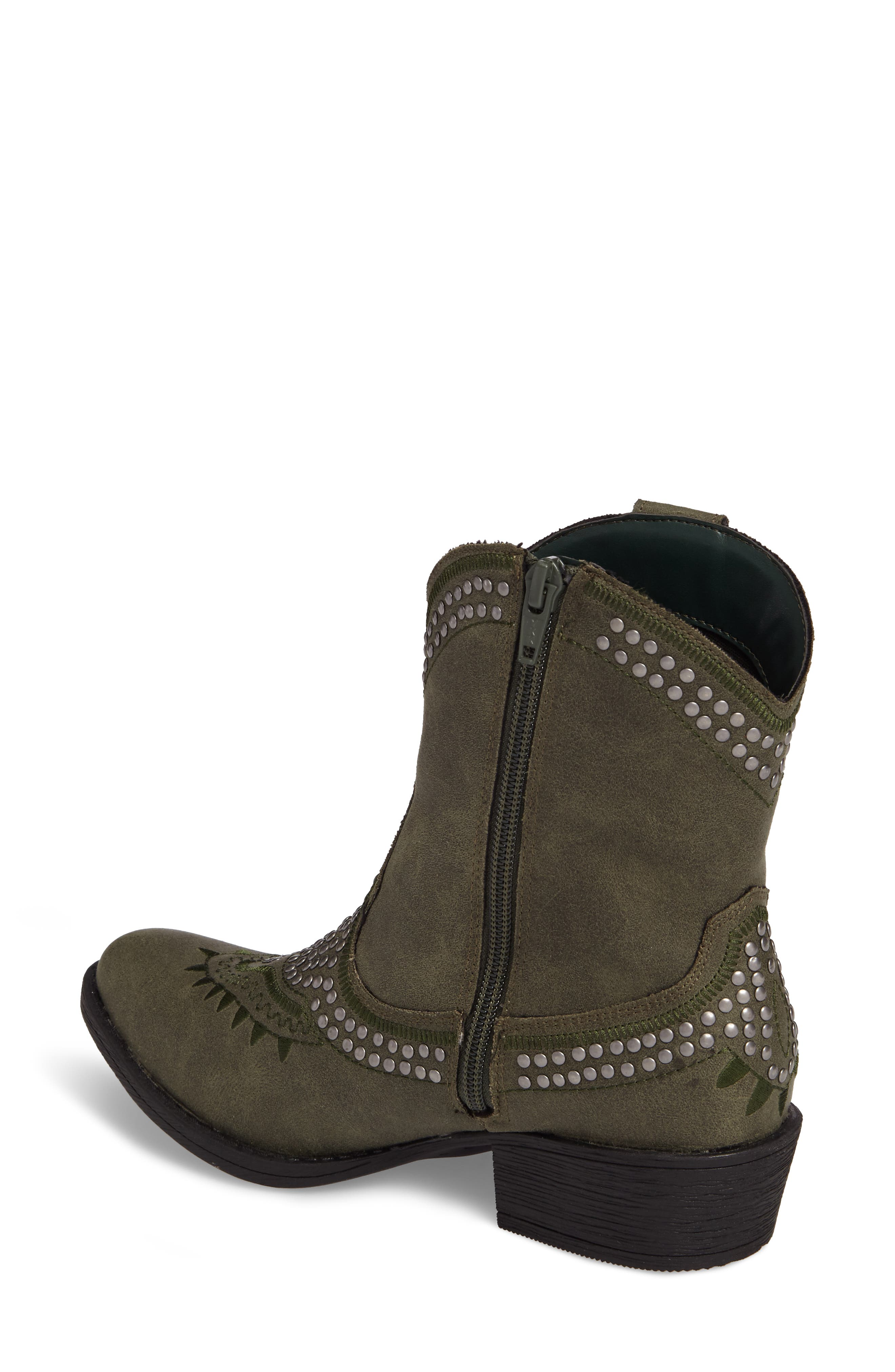 Amour Embellished Western Bootie,                             Alternate thumbnail 6, color,