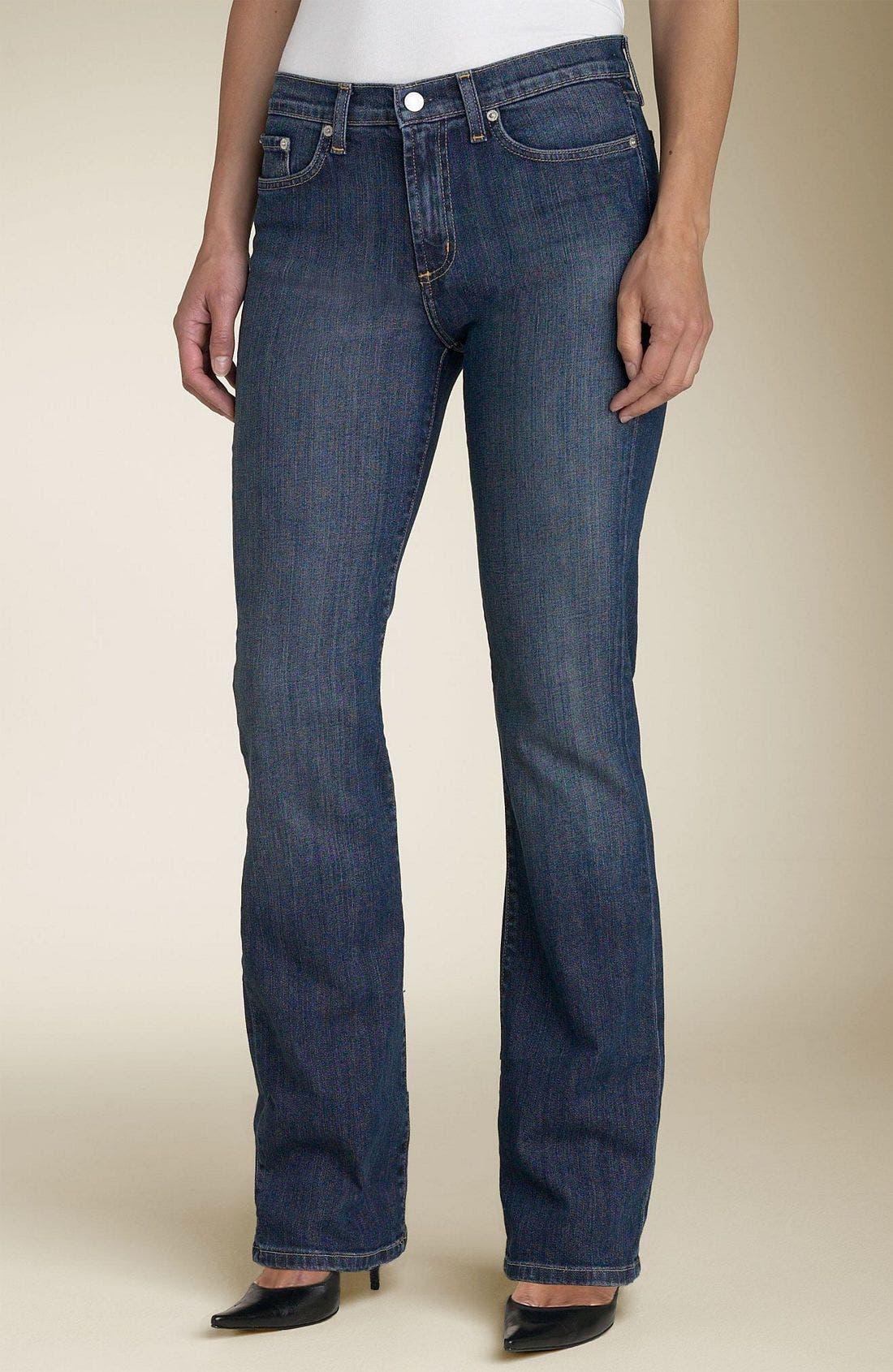 Five Pocket Stretch Jeans,                             Main thumbnail 1, color,                             DDN