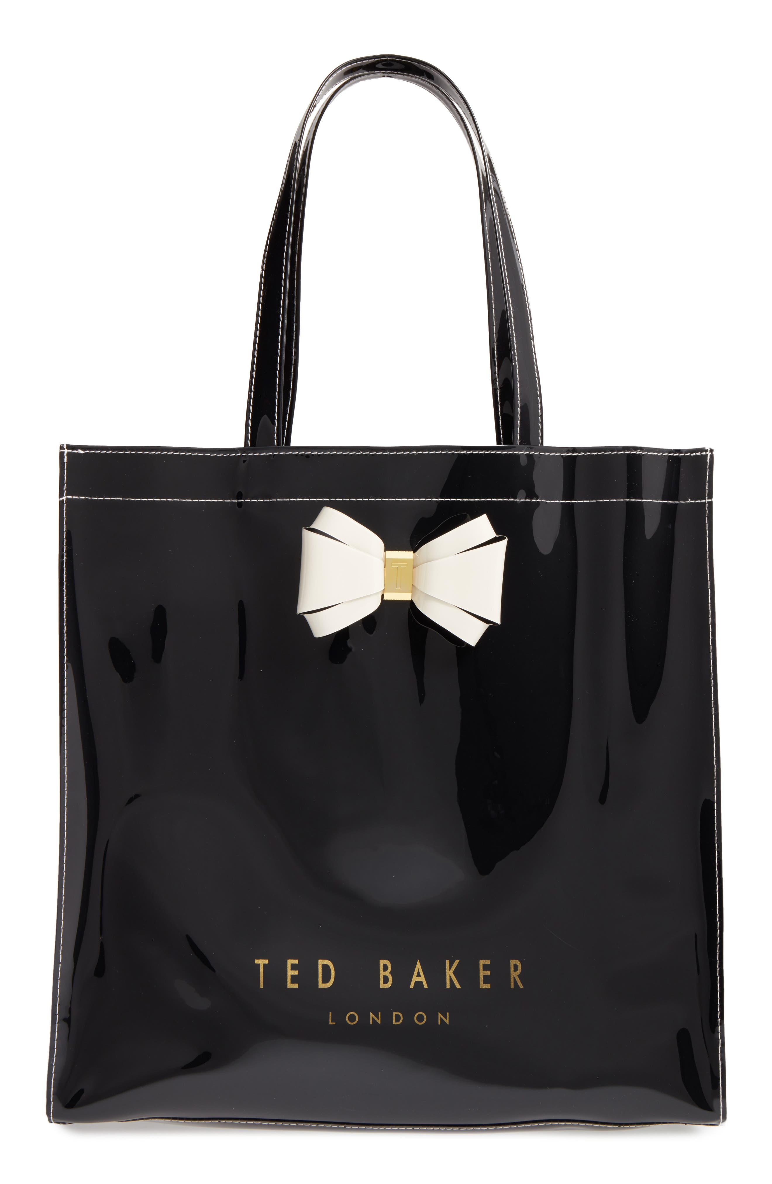 Large Icon - Bow Tote,                         Main,                         color, 001