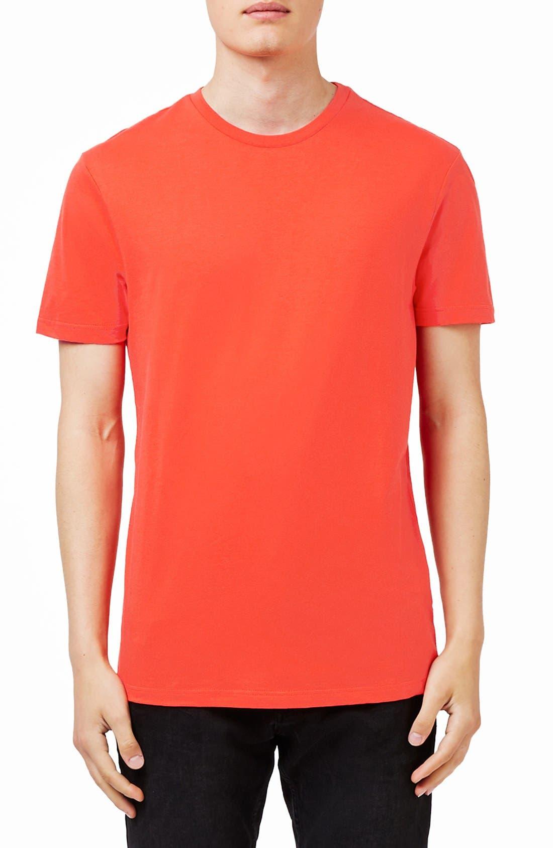 Slim Fit Crewneck T-Shirt,                             Main thumbnail 82, color,