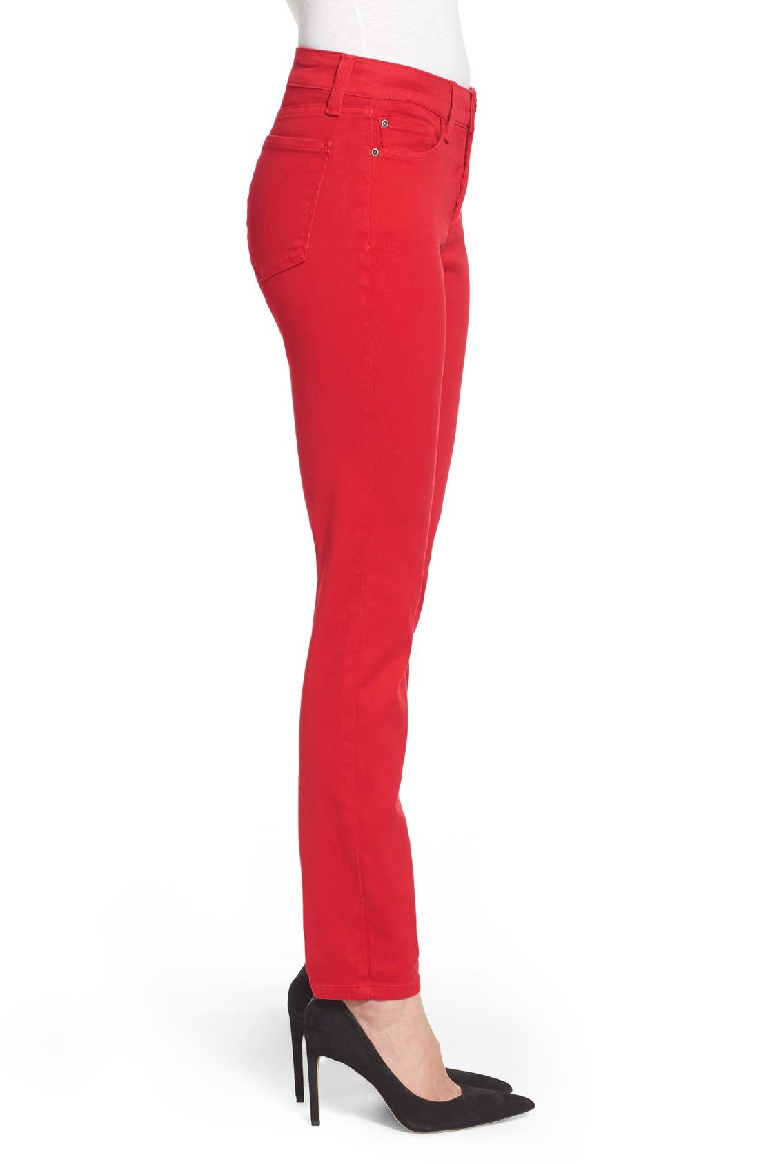 Alina Colored Stretch Skinny Jeans,                             Alternate thumbnail 152, color,