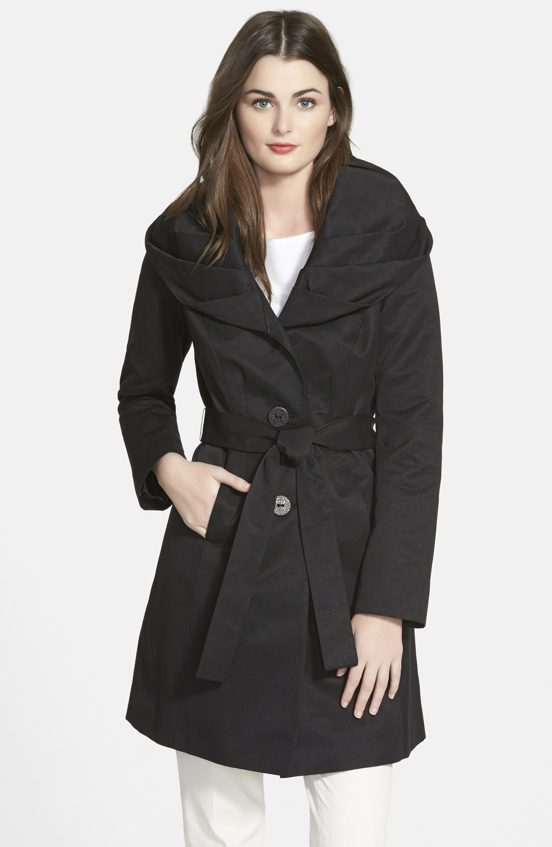 'Cheryl' Trench Coat,                             Main thumbnail 1, color,                             001