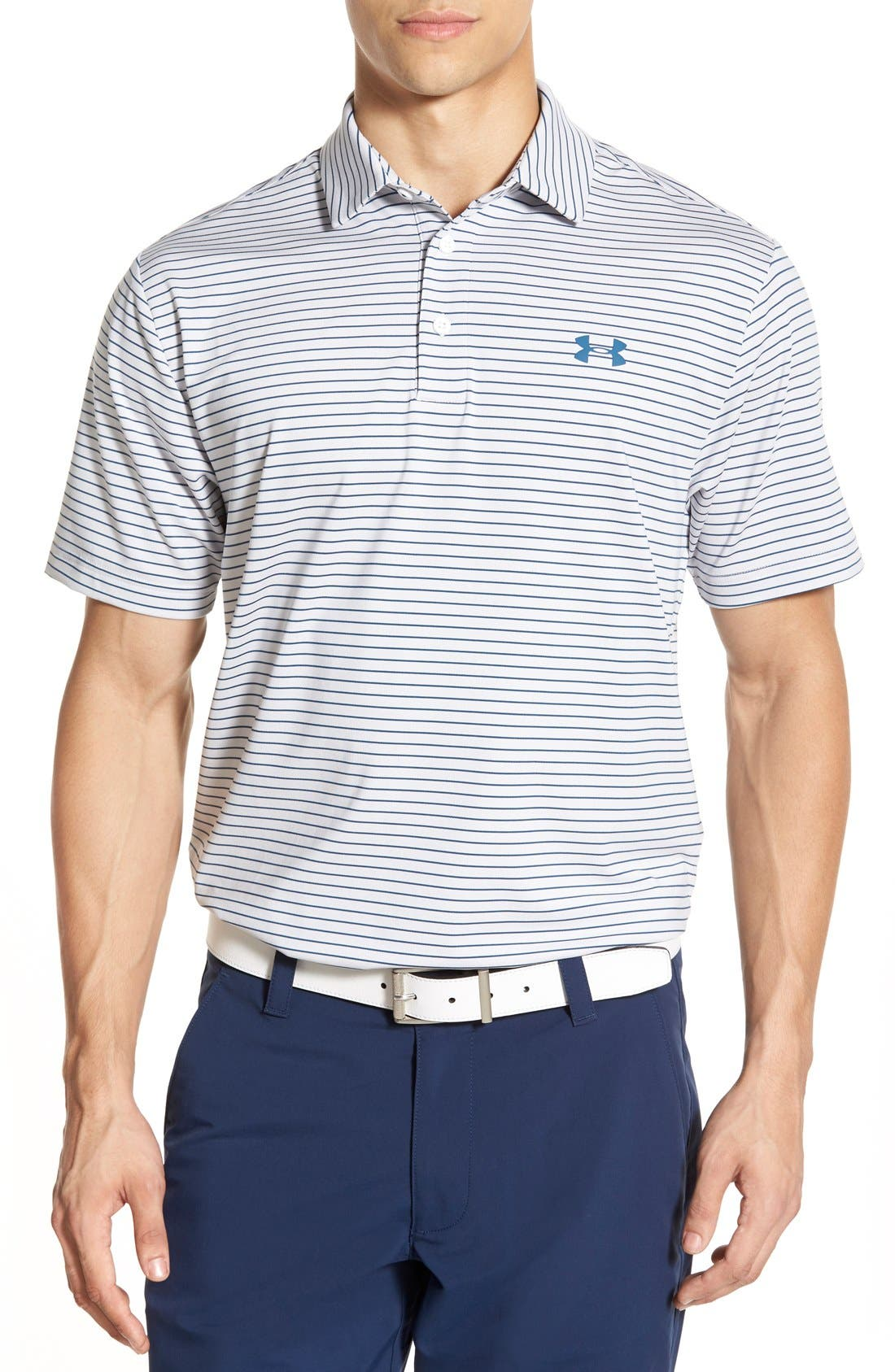 'Playoff' Loose Fit Short Sleeve Polo,                             Main thumbnail 16, color,