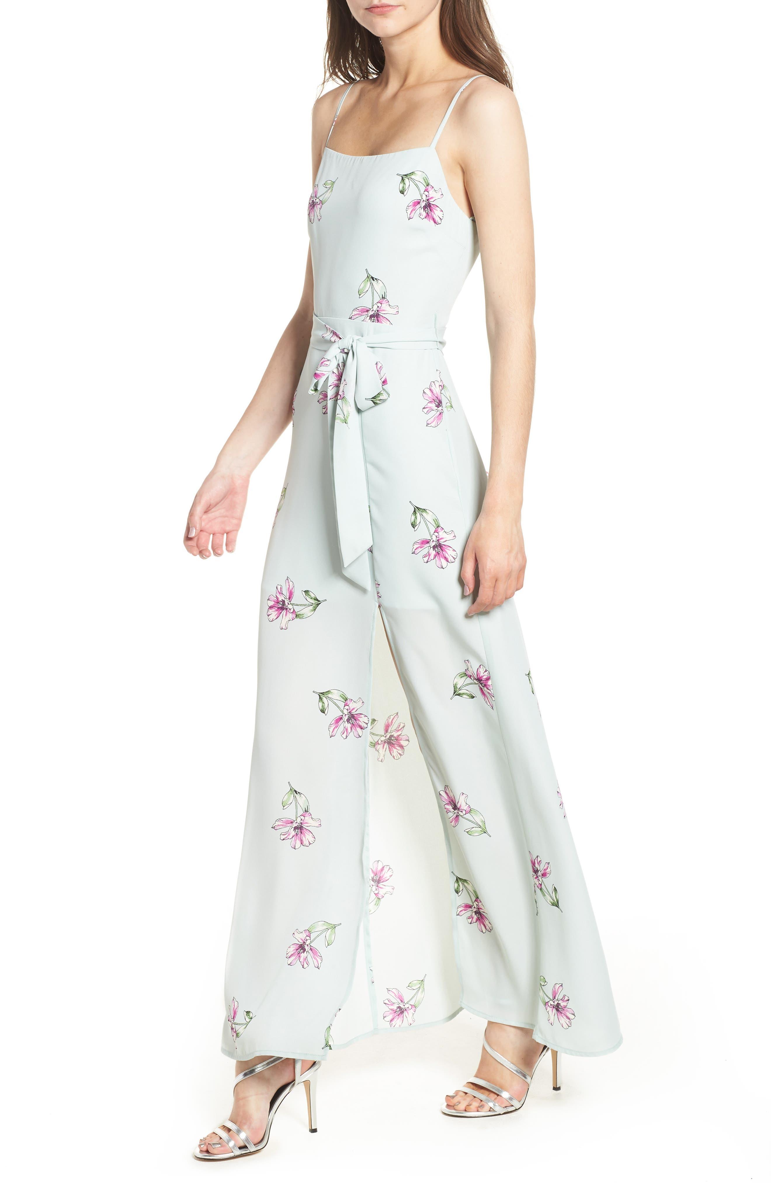 Tie Waist Maxi Dress,                             Alternate thumbnail 6, color,                             300