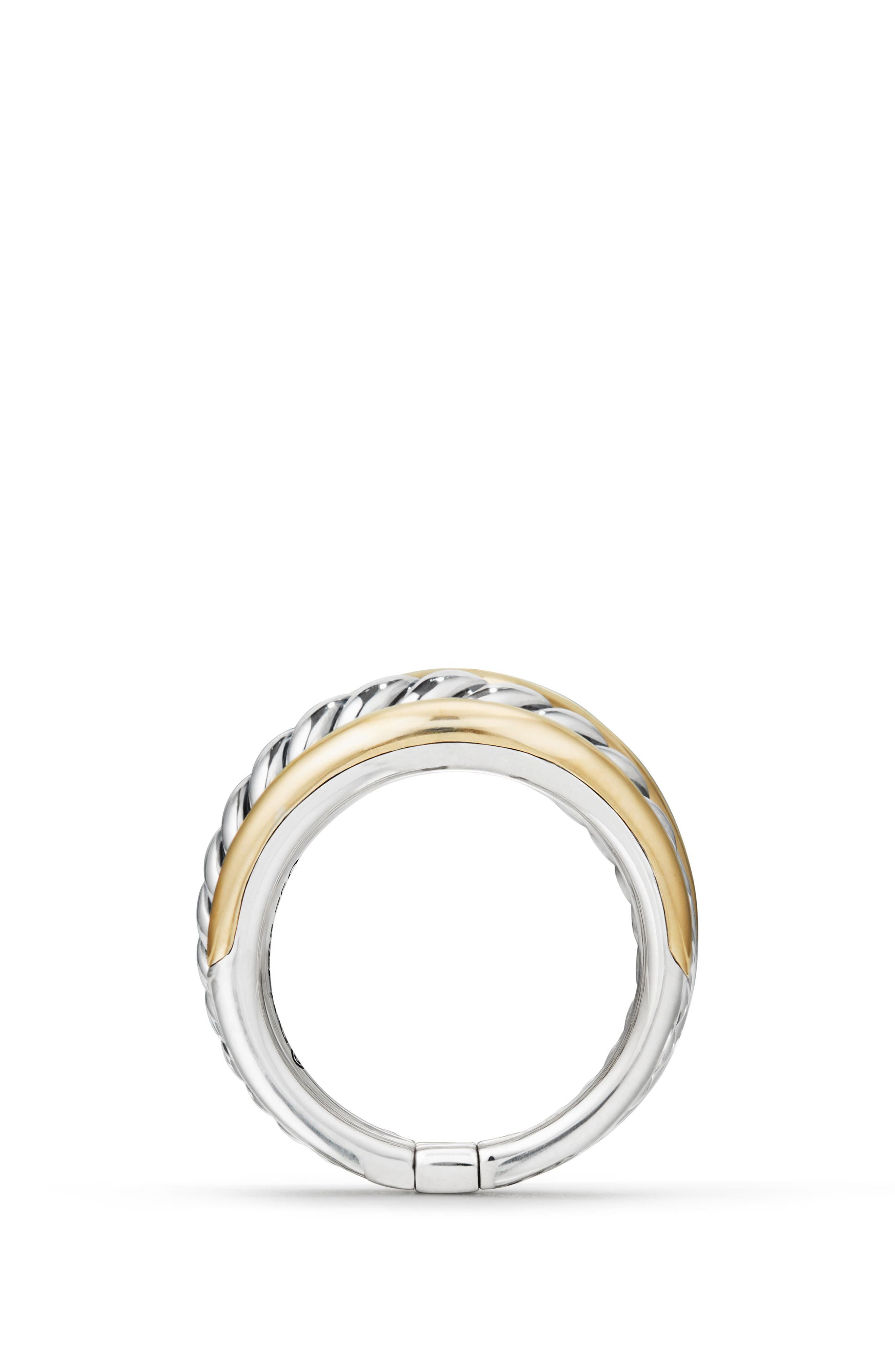 DAVID YURMAN,                             Pure Form<sup>®</sup> Wide Ring,                             Alternate thumbnail 3, color,                             SILVER