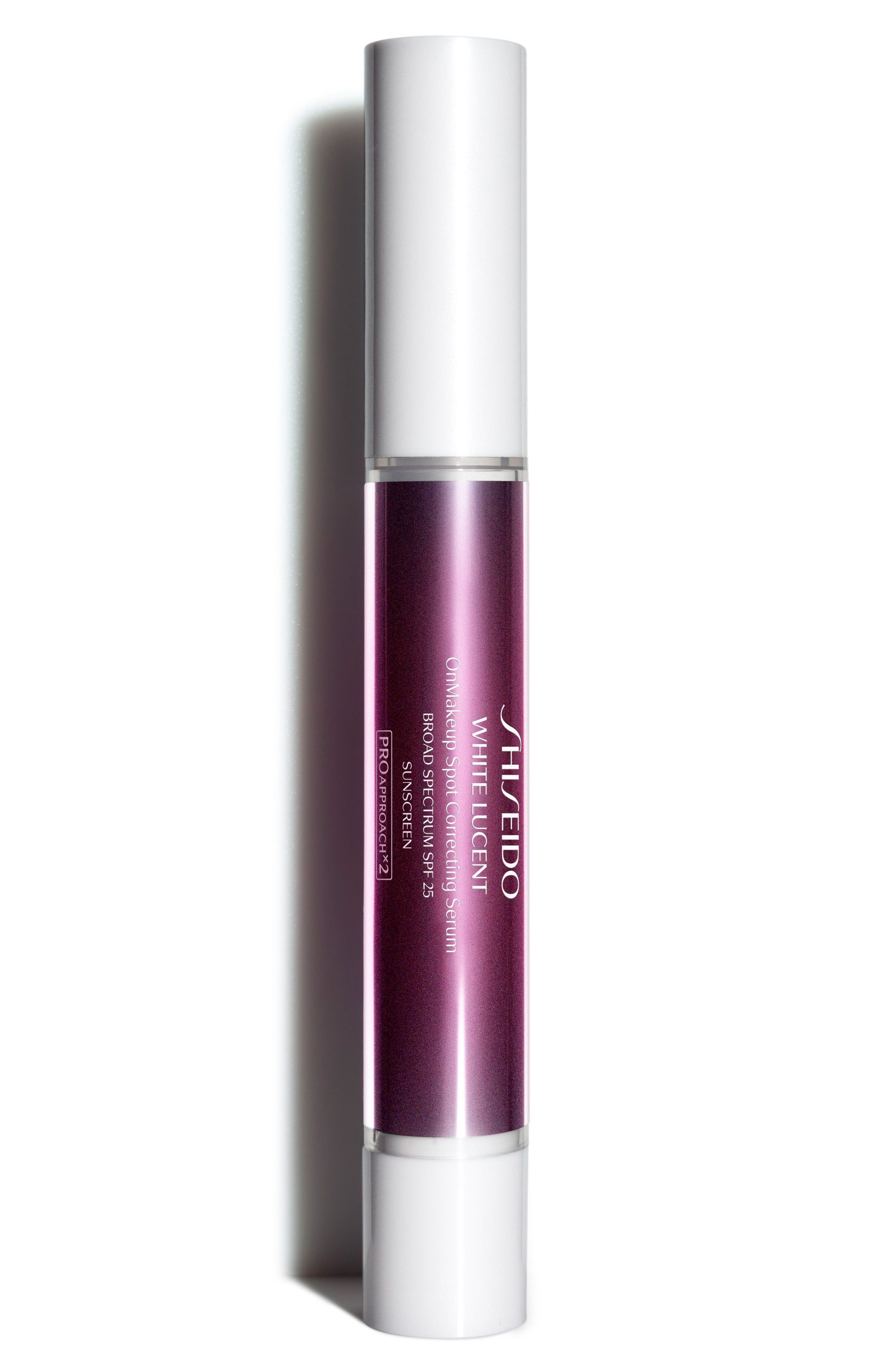 White Lucent OnMakeup Spot Correcting Serum Broad Spectrum SPF 25,                         Main,                         color, NATURAL LIGHT