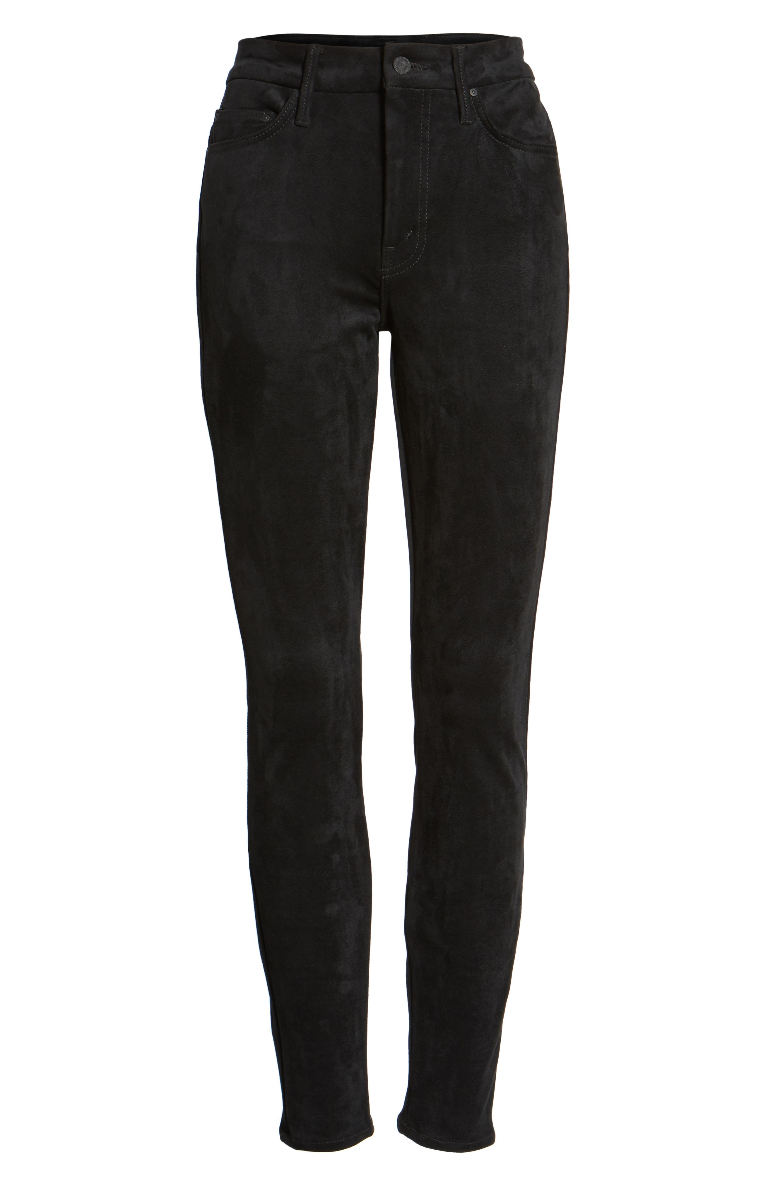The Looker High Waist Ankle Skinny Jeans,                             Alternate thumbnail 6, color,