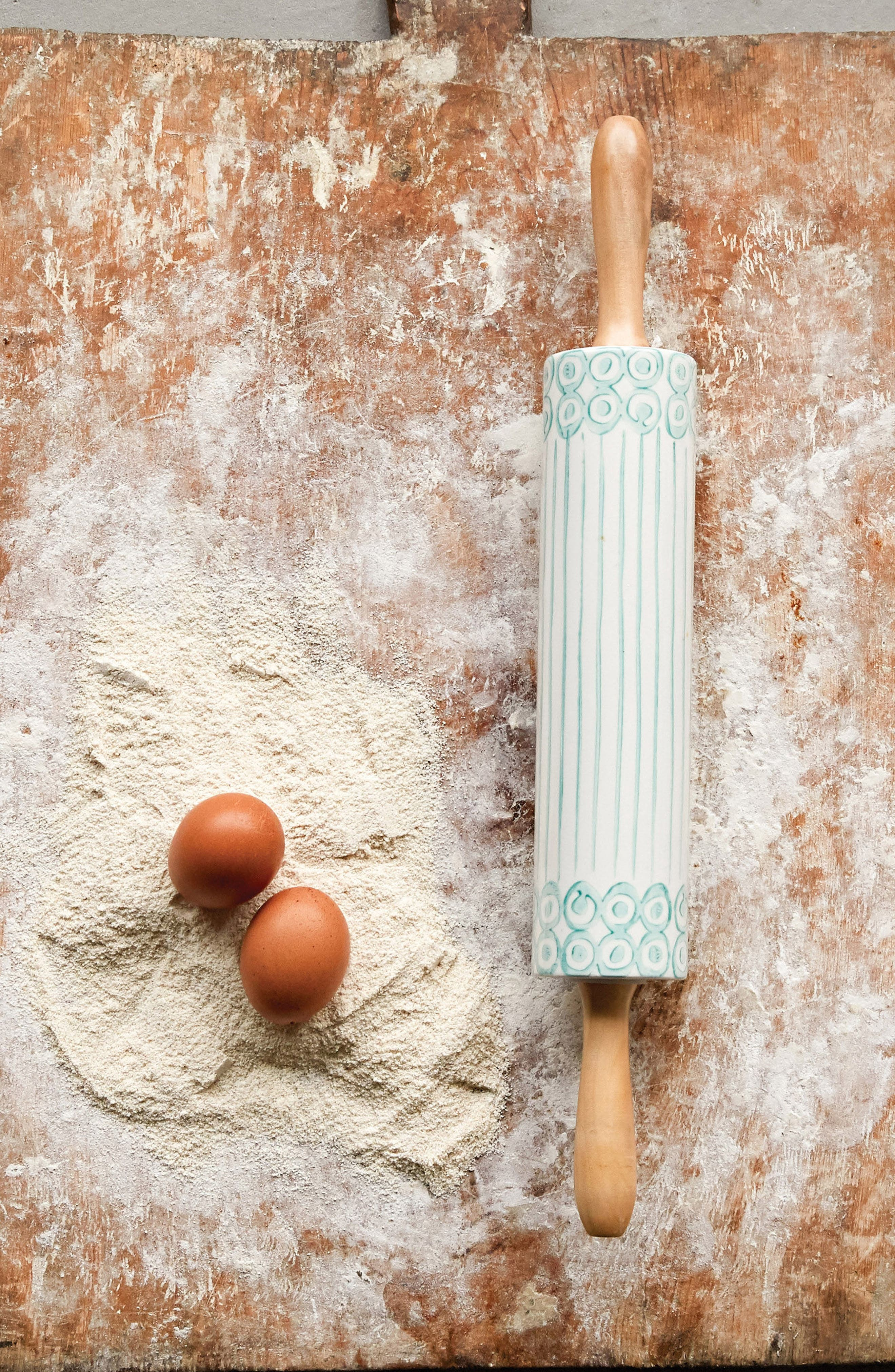 Stoneware Rolling Pin,                             Alternate thumbnail 2, color,                             400