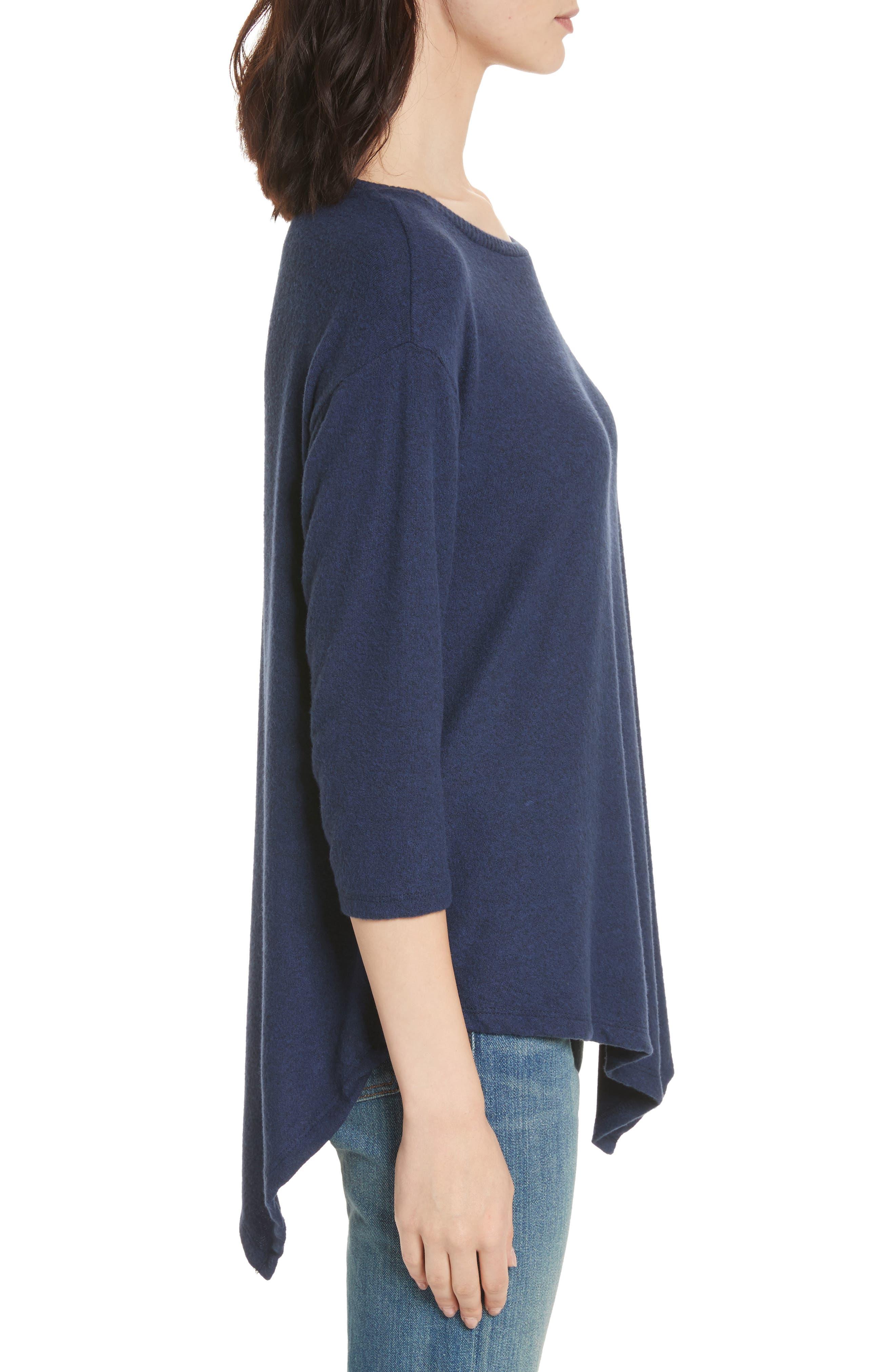 Soft Joie Tammy Asymmetrical Sweater,                             Alternate thumbnail 3, color,                             404