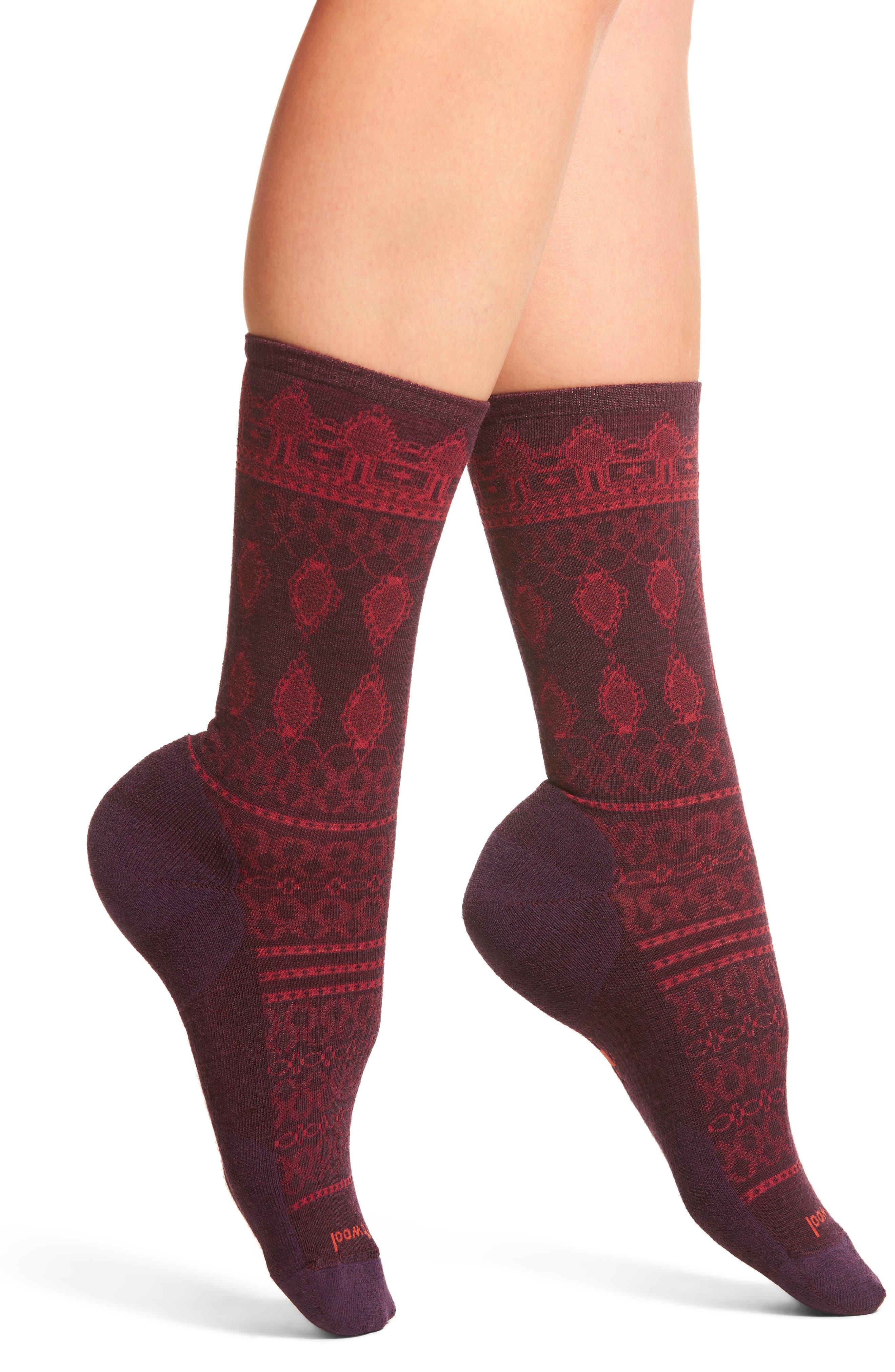 Lacet Crew Socks,                             Main thumbnail 1, color,                             500