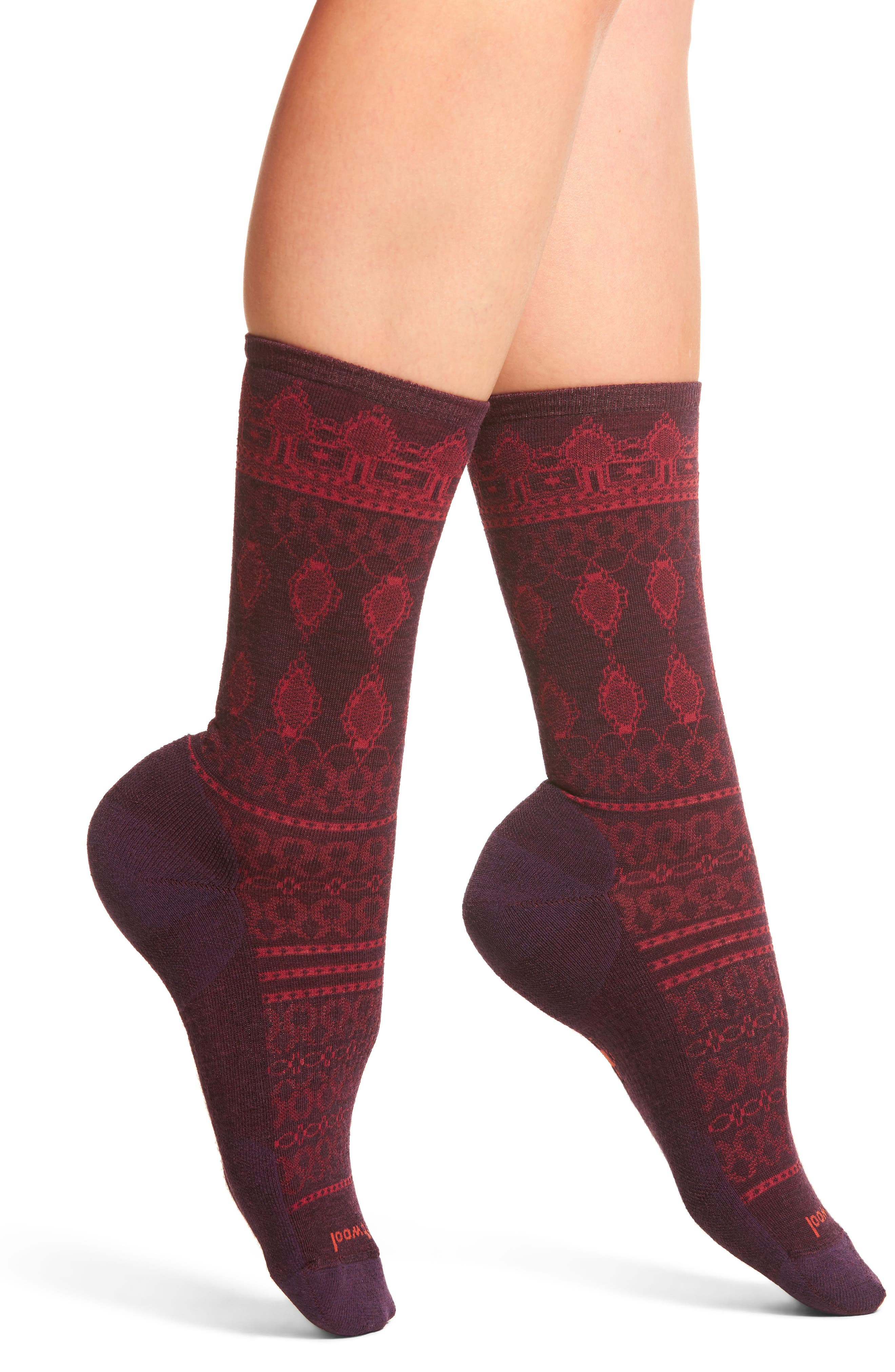 Lacet Crew Socks,                         Main,                         color, 500