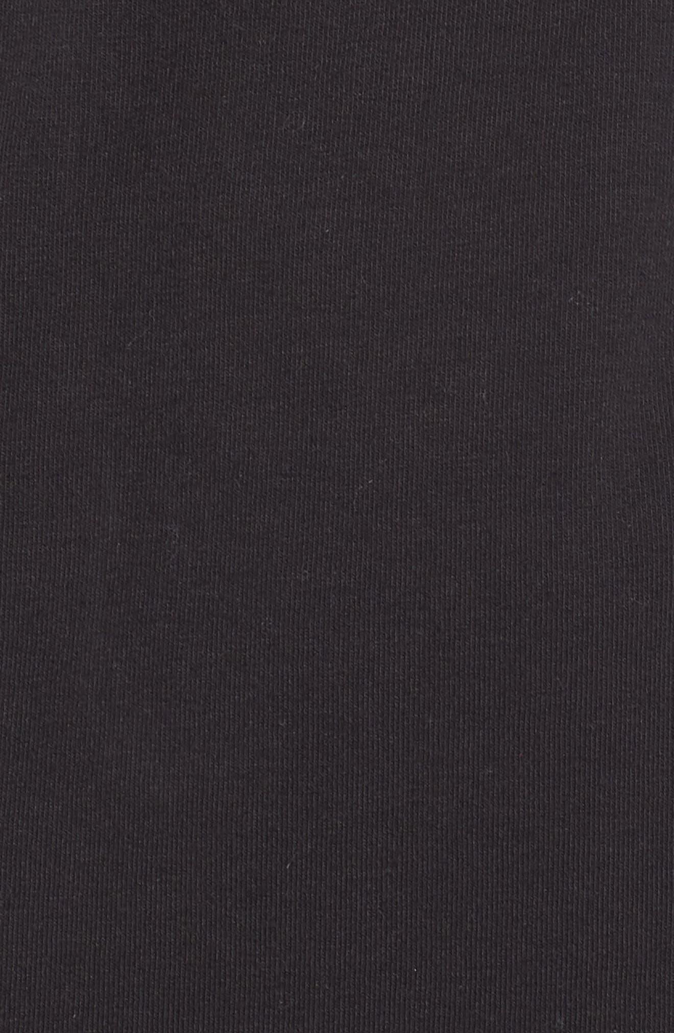 Erica Twist Cowl Neck Pullover,                             Alternate thumbnail 6, color,                             BLACK
