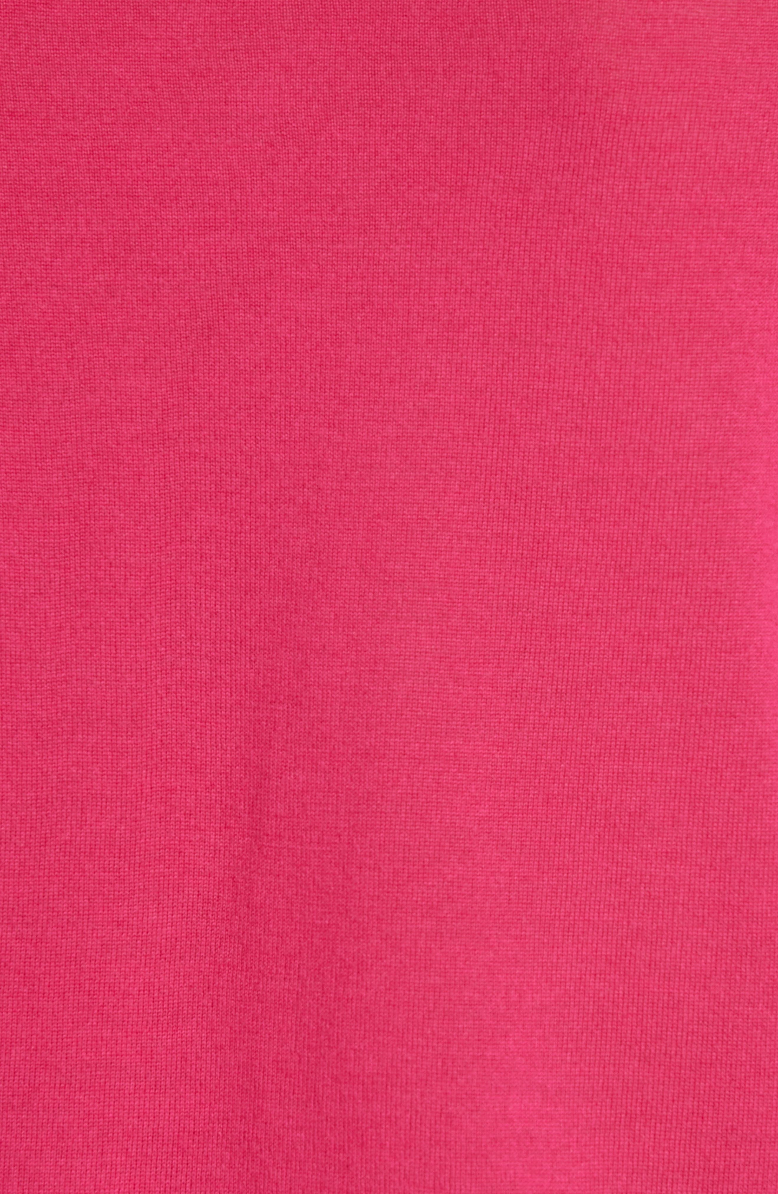 Filomeni Wool Cardigan,                             Alternate thumbnail 5, color,                             DEEP PLUMBERRY