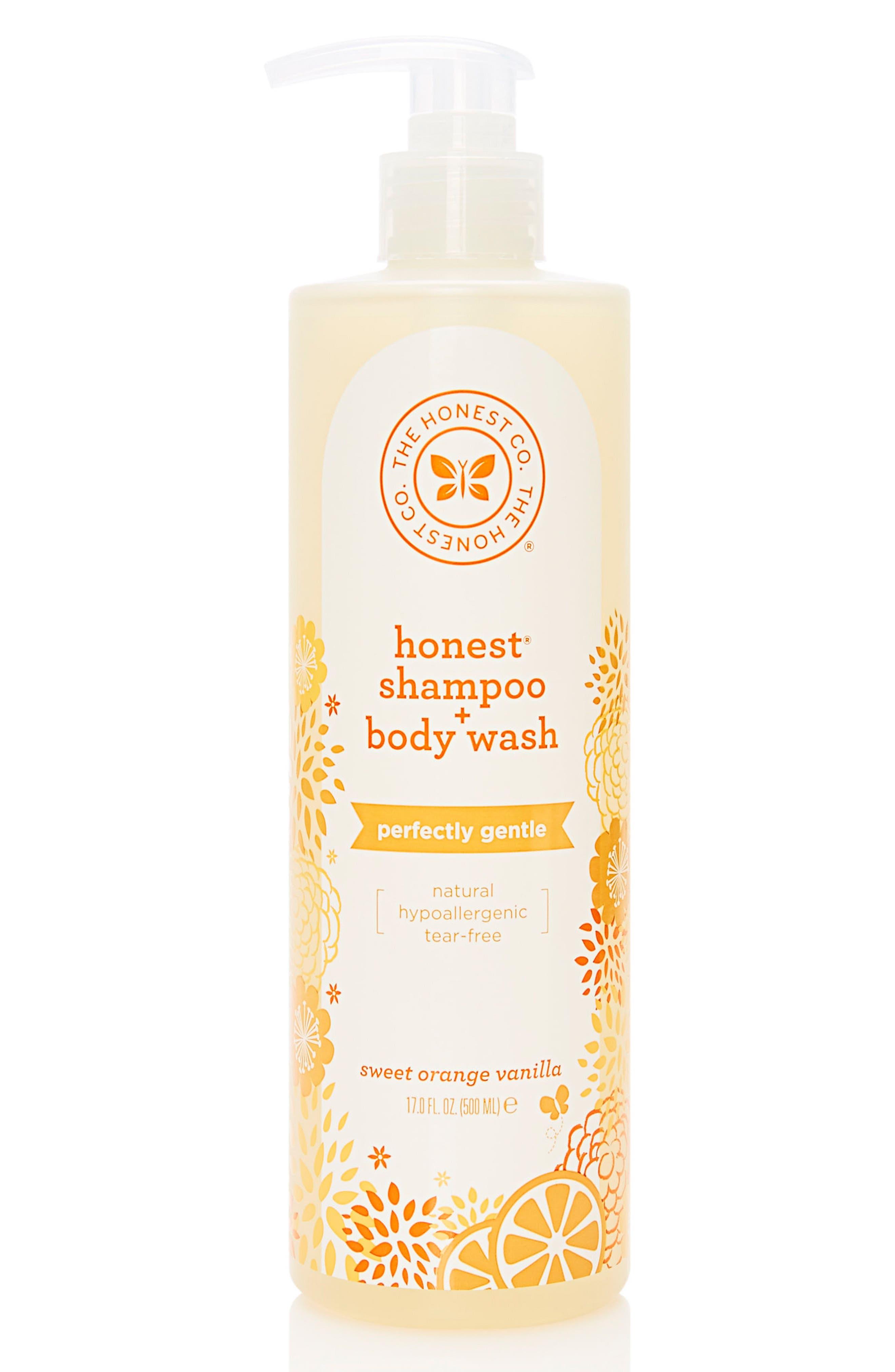 The Honest Company Shampoo  Body Wash