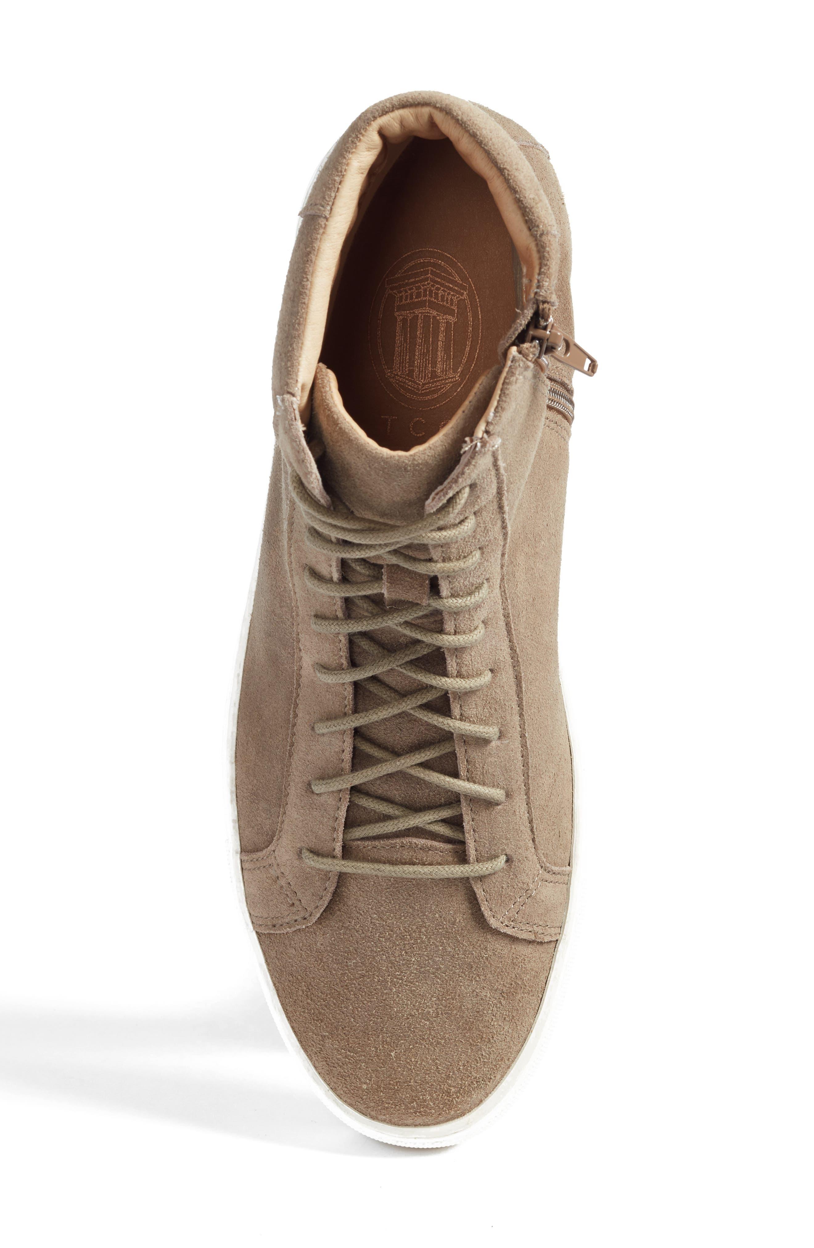 Logan Water Resistant High Top Sneaker,                             Alternate thumbnail 19, color,