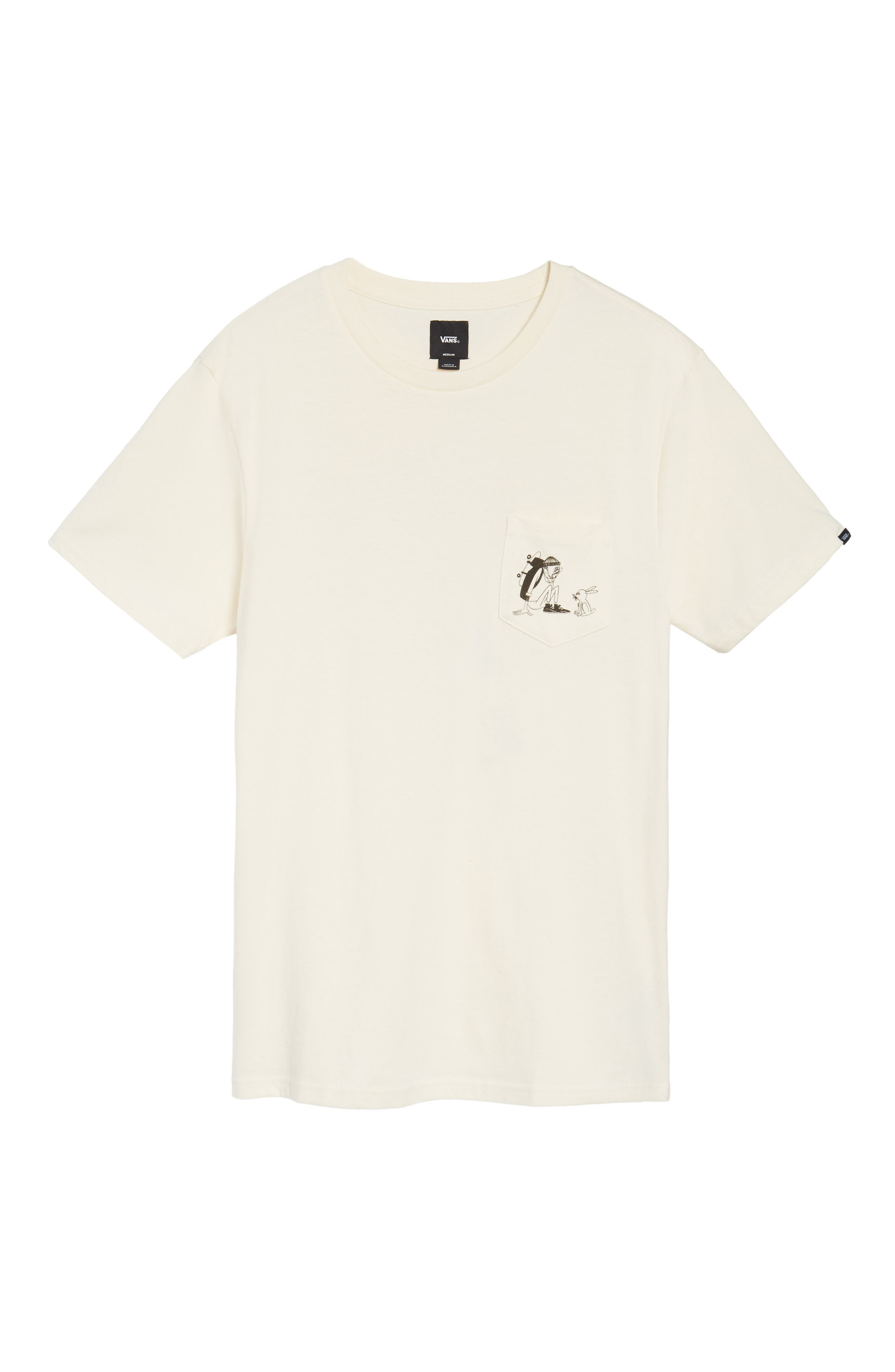 x Yusuke Hanai Outdoors Graphic Pocket T-Shirt,                             Alternate thumbnail 6, color,                             100