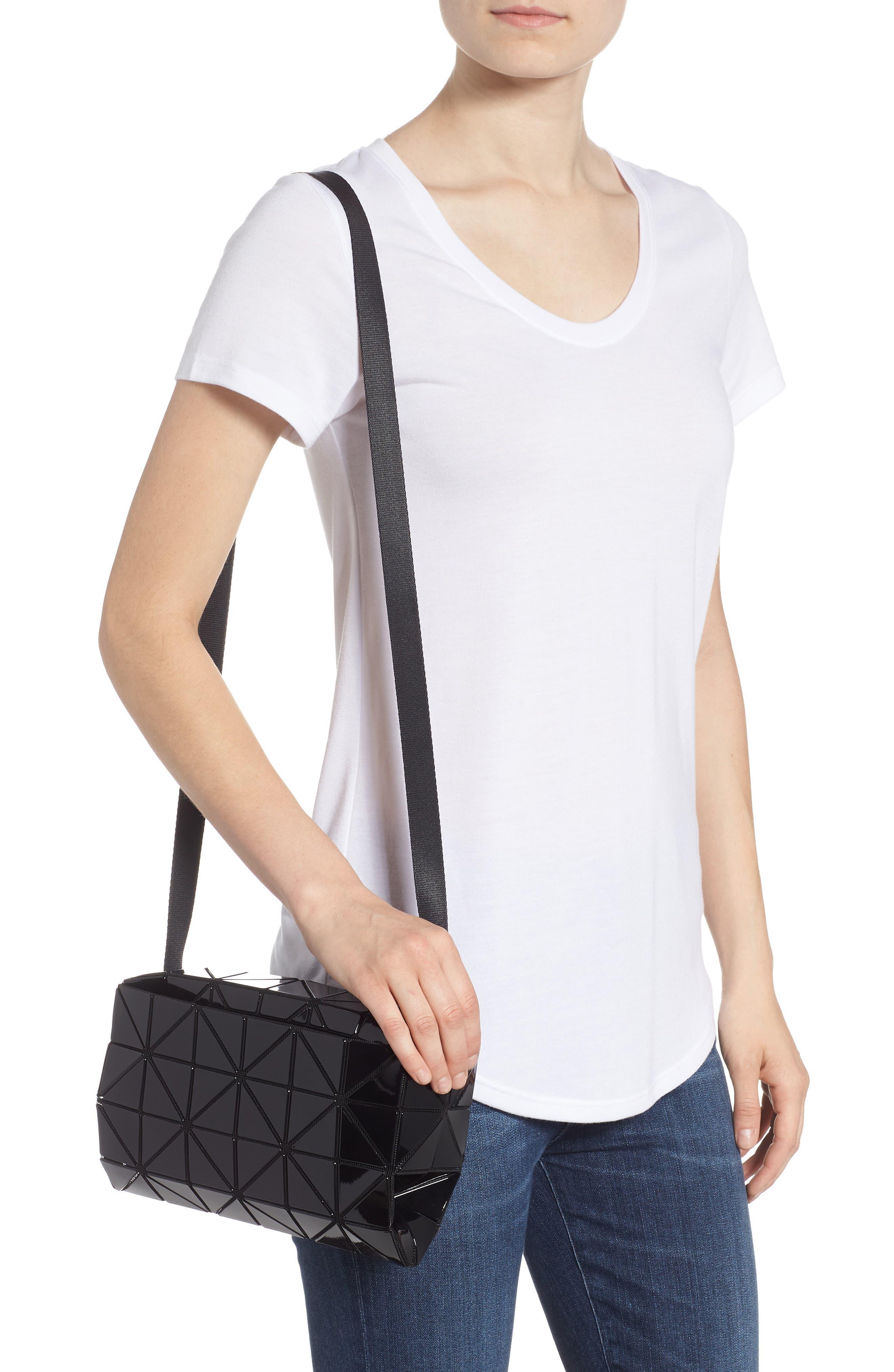 Carton Crossbody Bag,                             Alternate thumbnail 2, color,                             BLACK