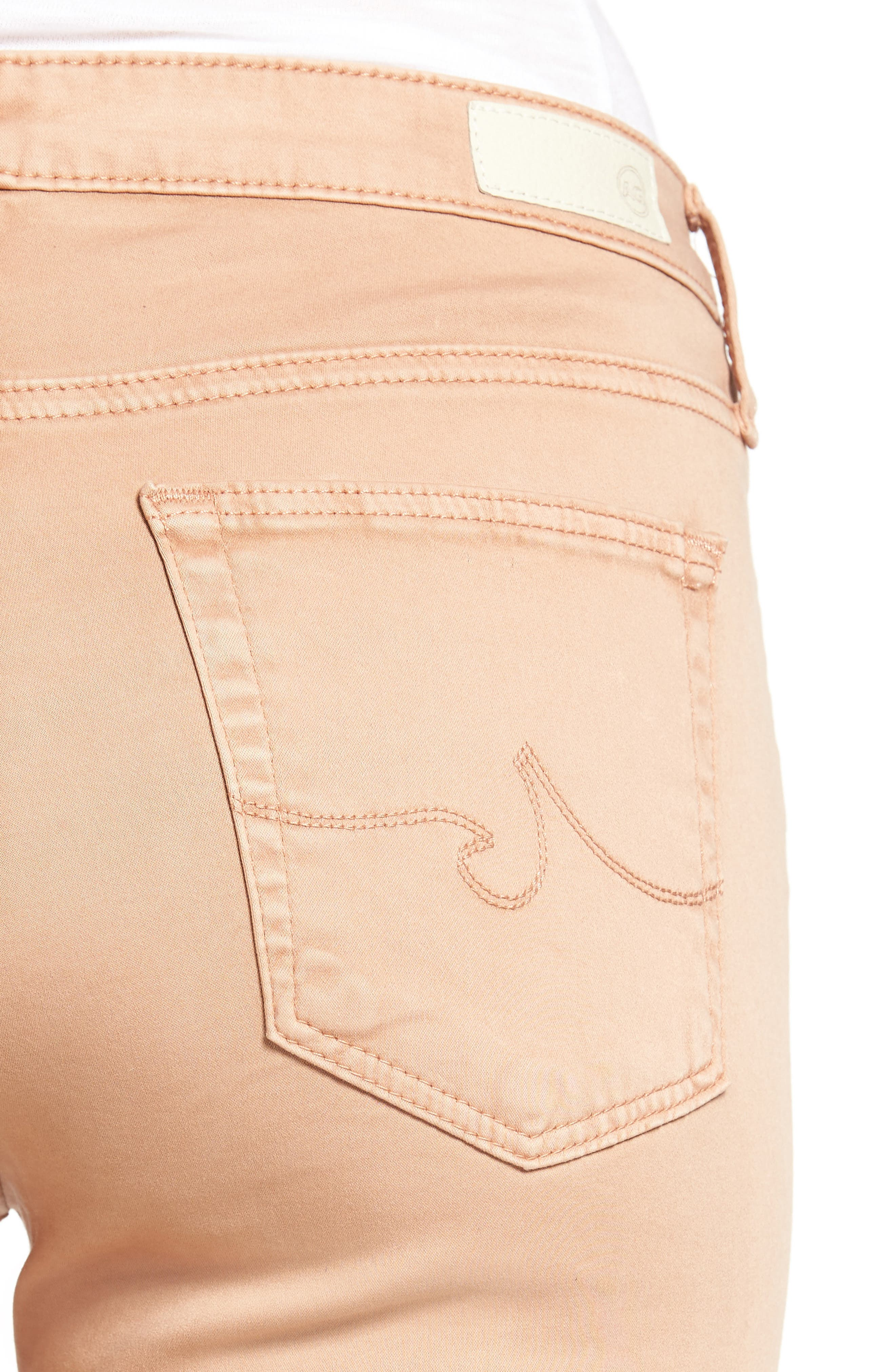 'The Prima' Cigarette Leg Skinny Jeans,                             Alternate thumbnail 100, color,