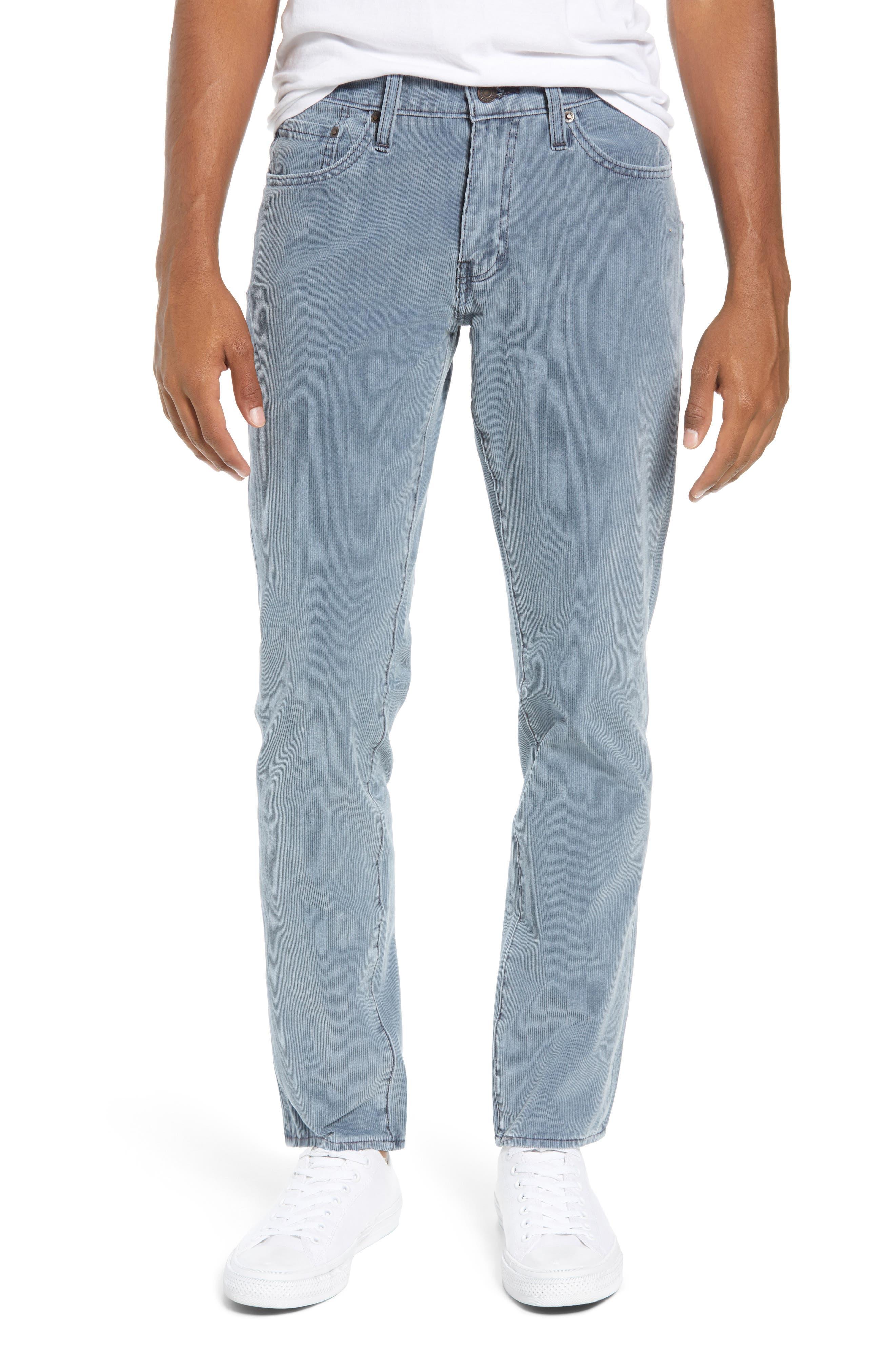 511<sup>™</sup> Slim Fit Corduroy Jeans,                             Main thumbnail 1, color,                             OMBRE BLUE WARP CORDUROY