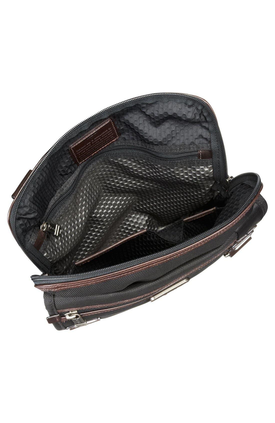 TUMI,                             'Alpha Bravo - Annapolis' Zip Flap Messenger Bag,                             Alternate thumbnail 2, color,                             001