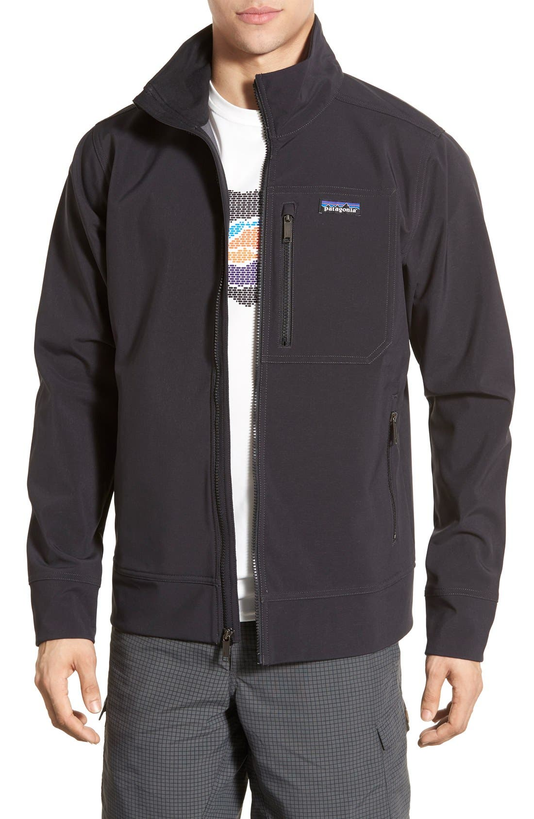 'Sidesend' Regular Fit Water Repellent Jacket,                             Main thumbnail 1, color,