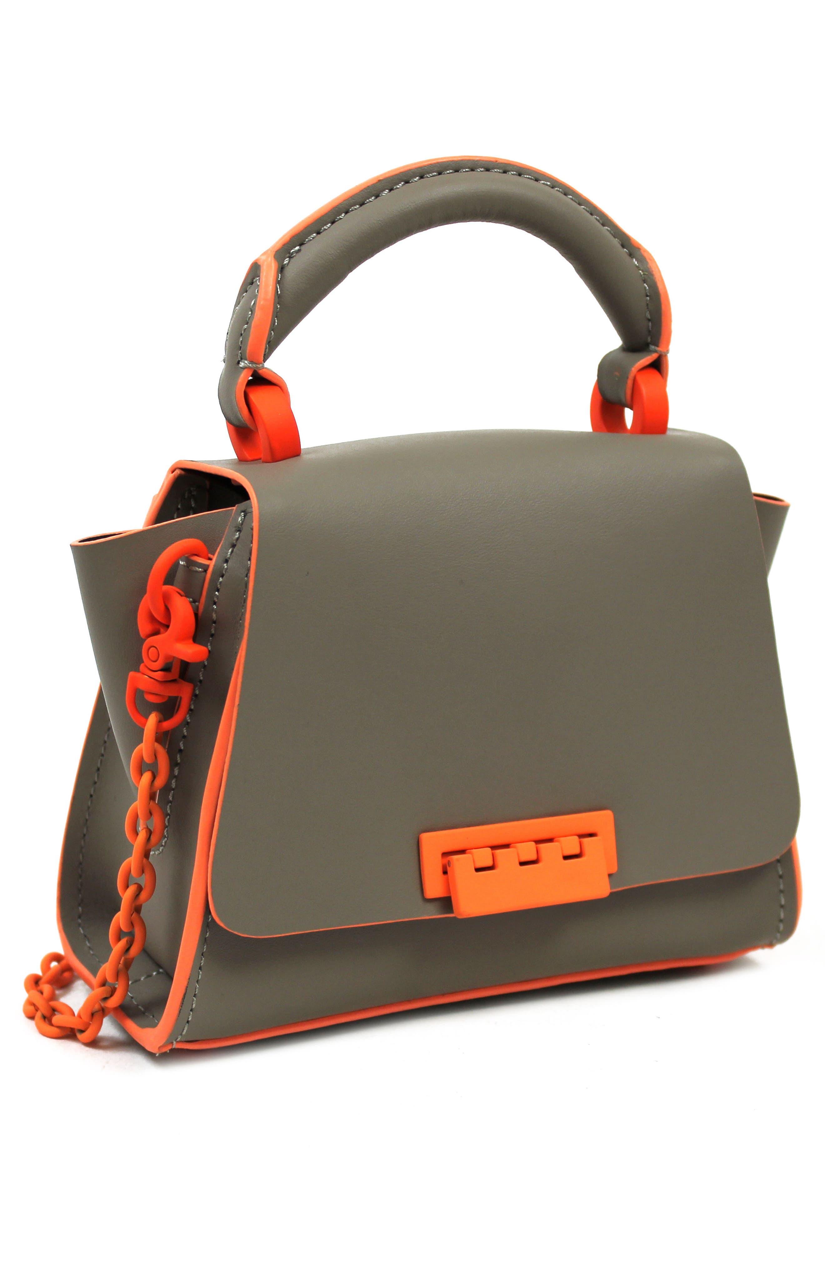 Eartha Iconic Leather Soft Handle Mini Bag,                             Alternate thumbnail 4, color,                             020