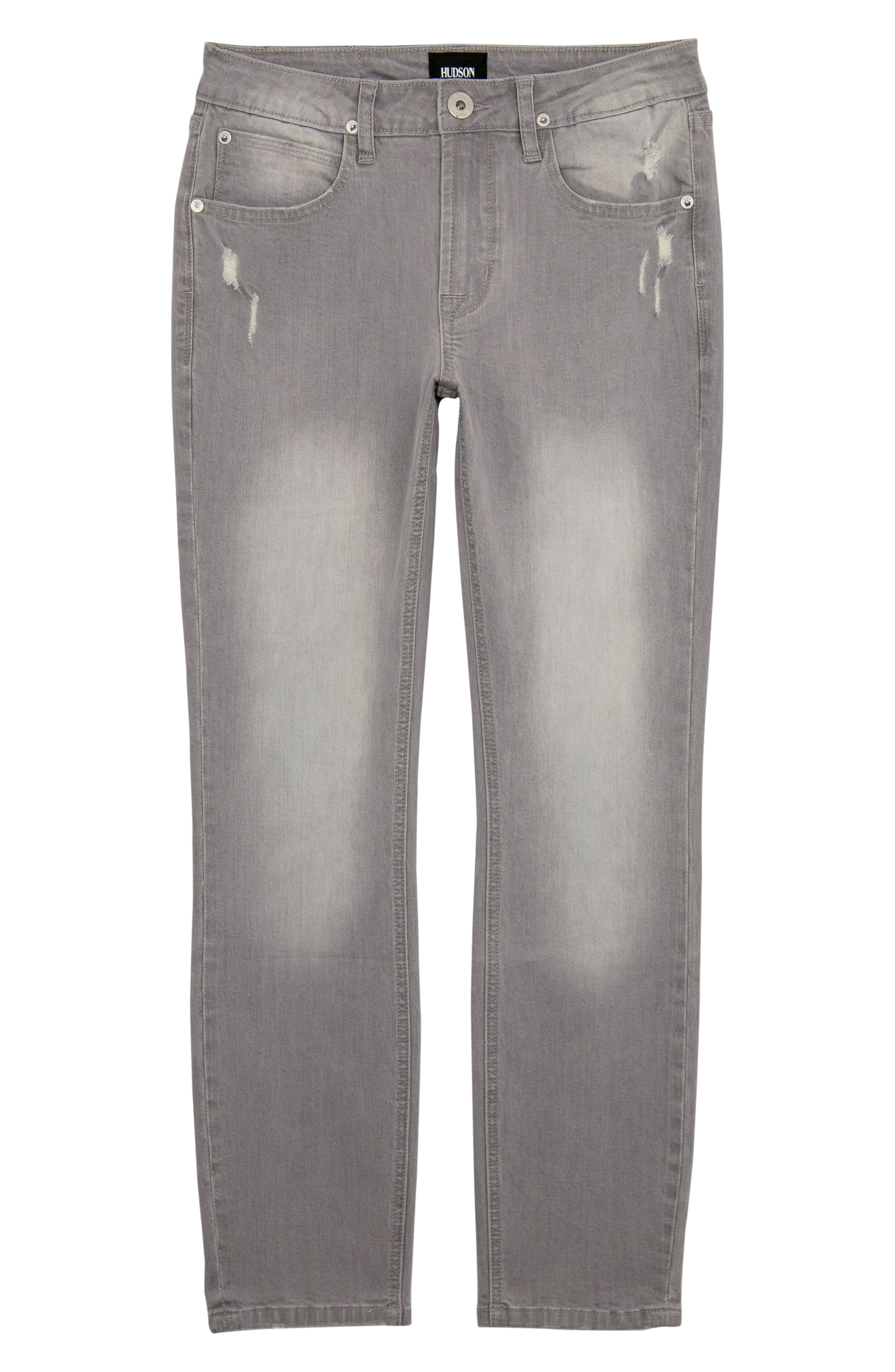 Toddler Boys Hudson Kids Straight Leg Jeans Size 3T  Grey