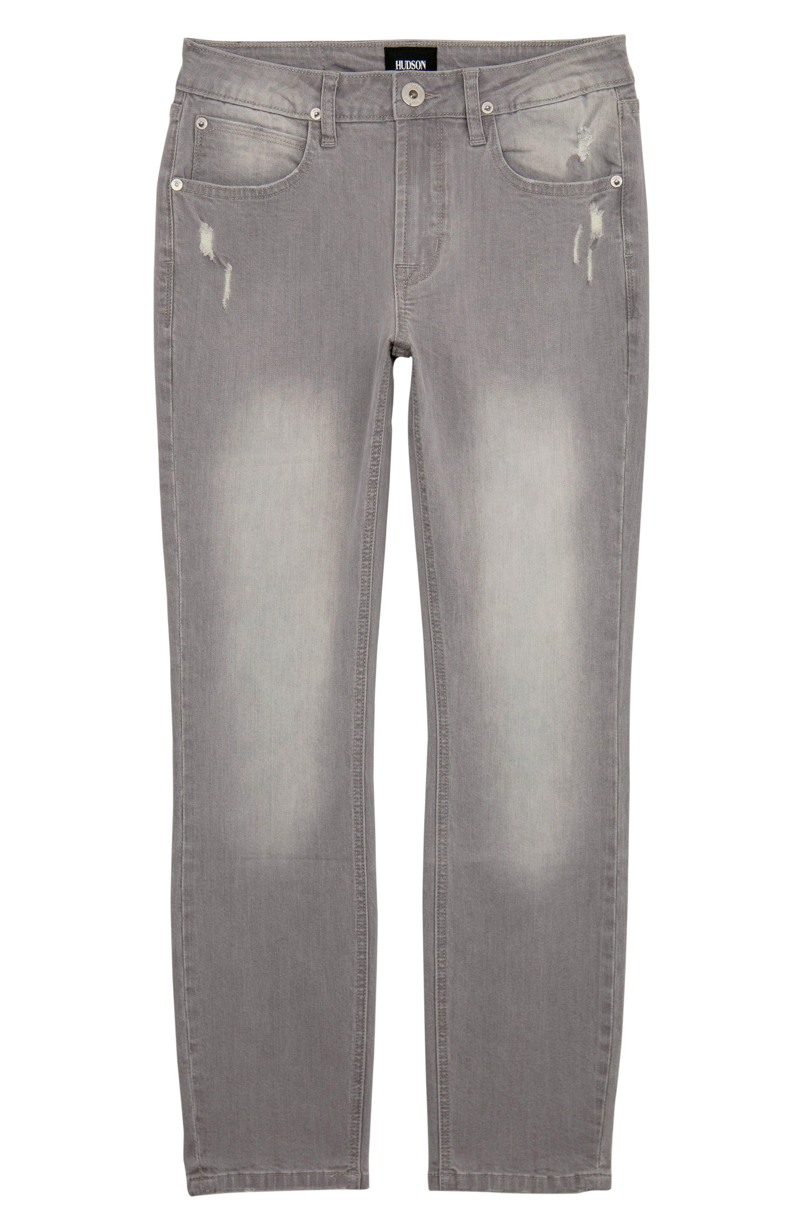 Straight Leg Jeans,                             Main thumbnail 1, color,                             GREY CLOUD
