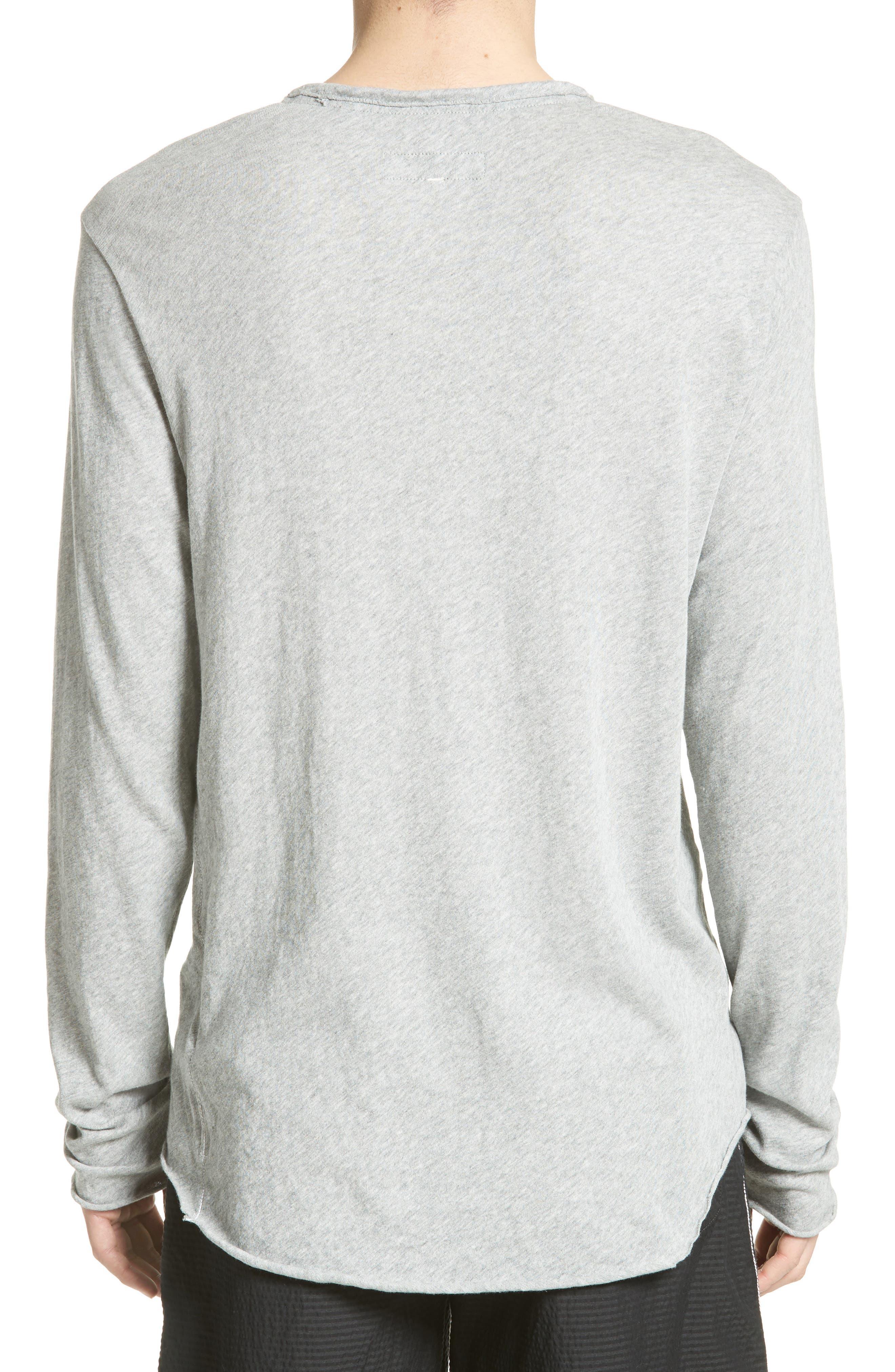 Hartley Cotton & Linen T-Shirt,                             Alternate thumbnail 2, color,                             034