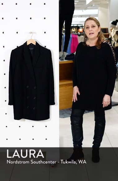 Norden Double Breasted Wool Jacket, sales video thumbnail
