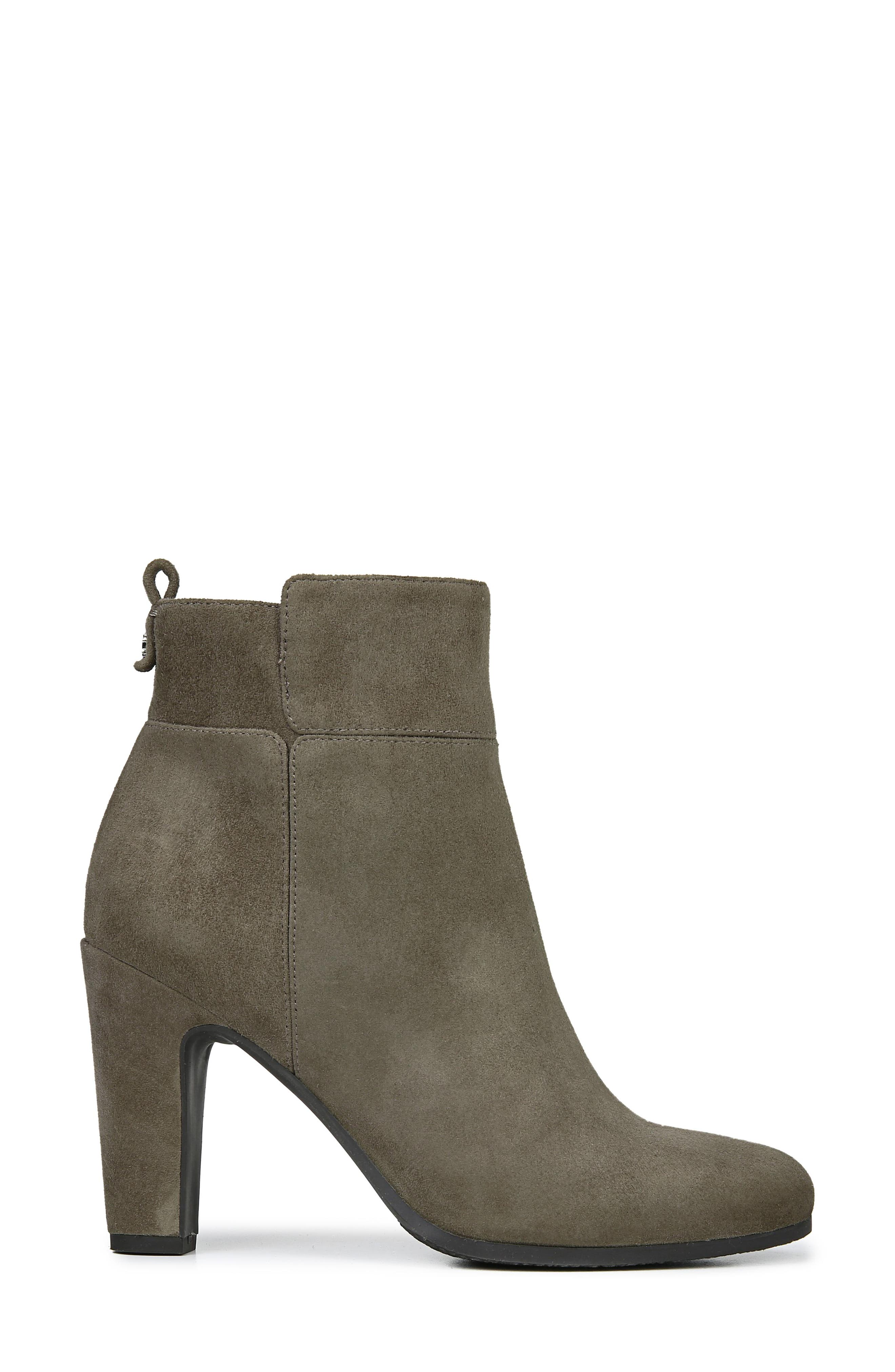 Sianna Bootie,                             Alternate thumbnail 3, color,                             FLINT GREY SUEDE
