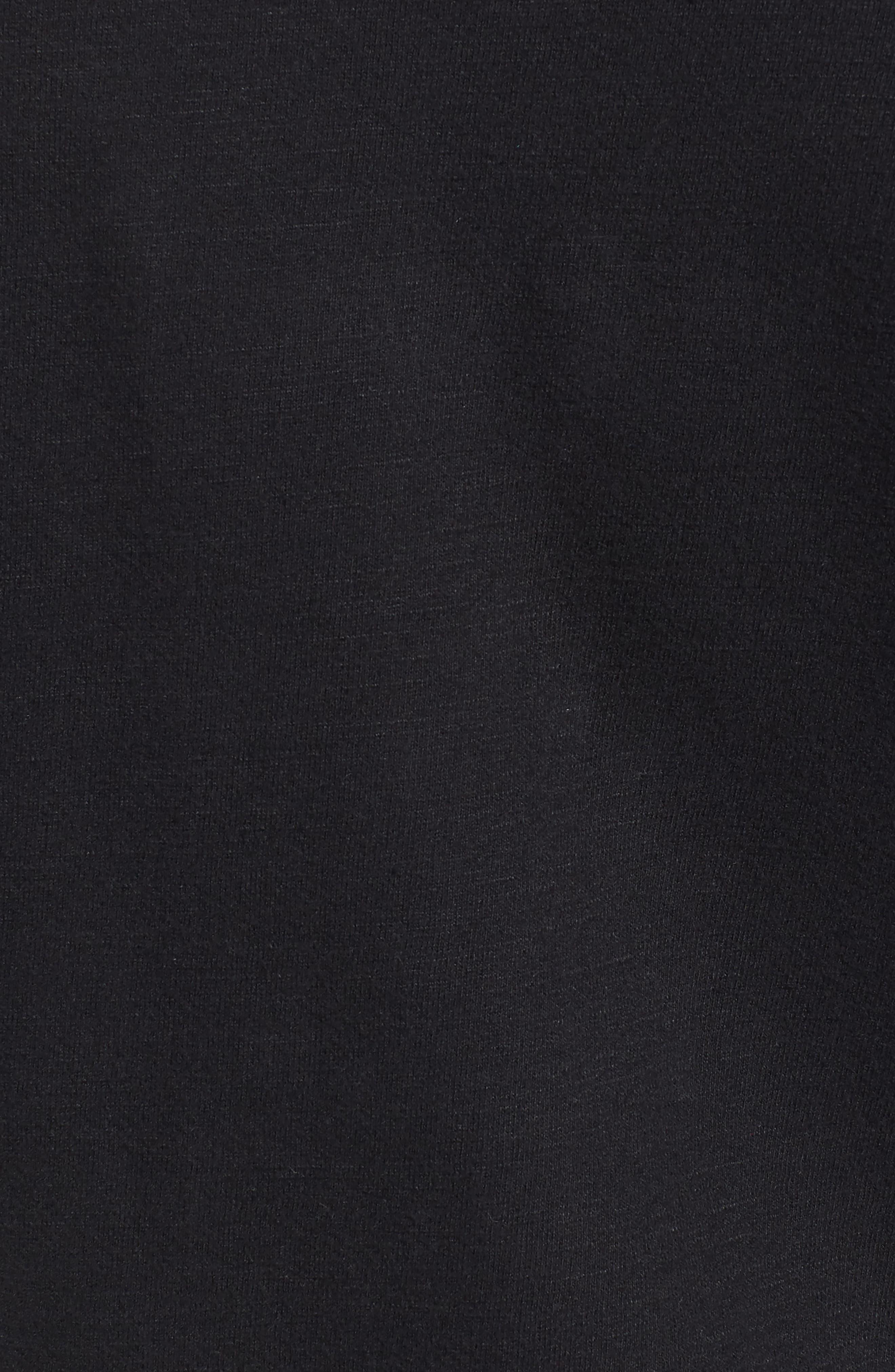 Distressed Print Slim Fit Crewneck T-Shirt,                             Alternate thumbnail 5, color,                             001