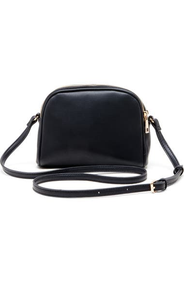 abf54e7e1229 Sole Society Linza Faux Leather Crossbody Bag