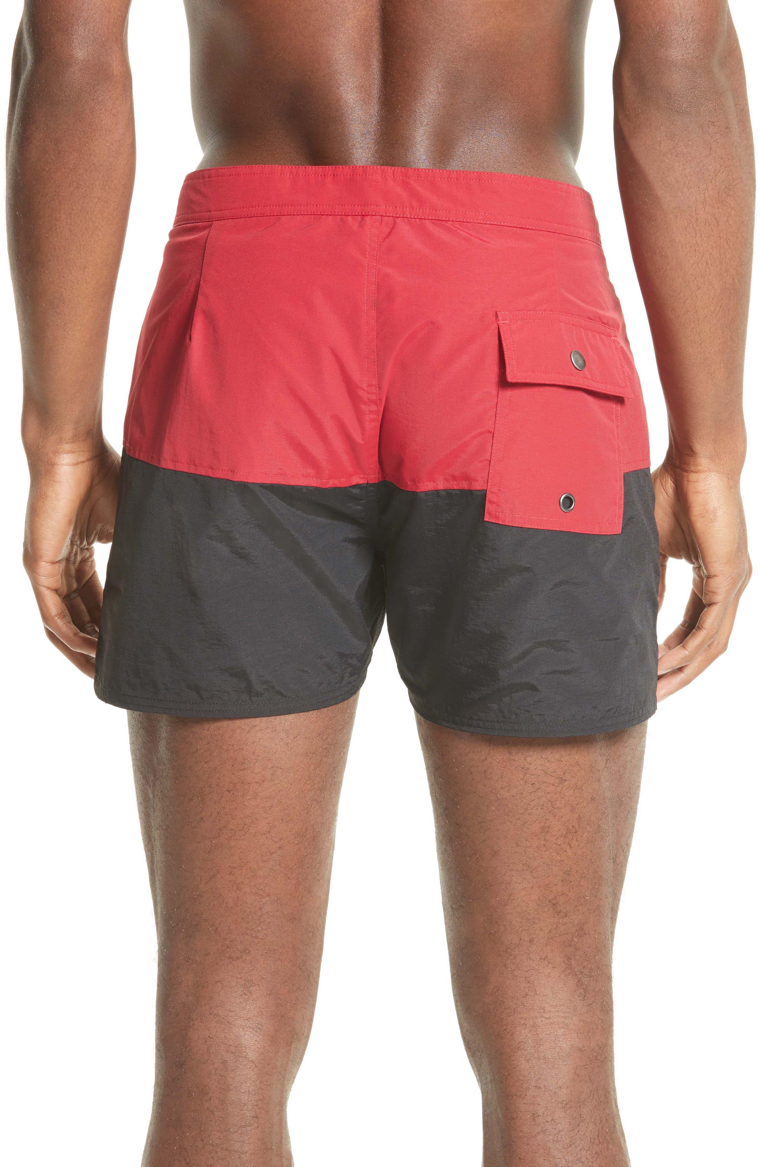Ennis Colorblock Board Shorts,                             Alternate thumbnail 2, color,