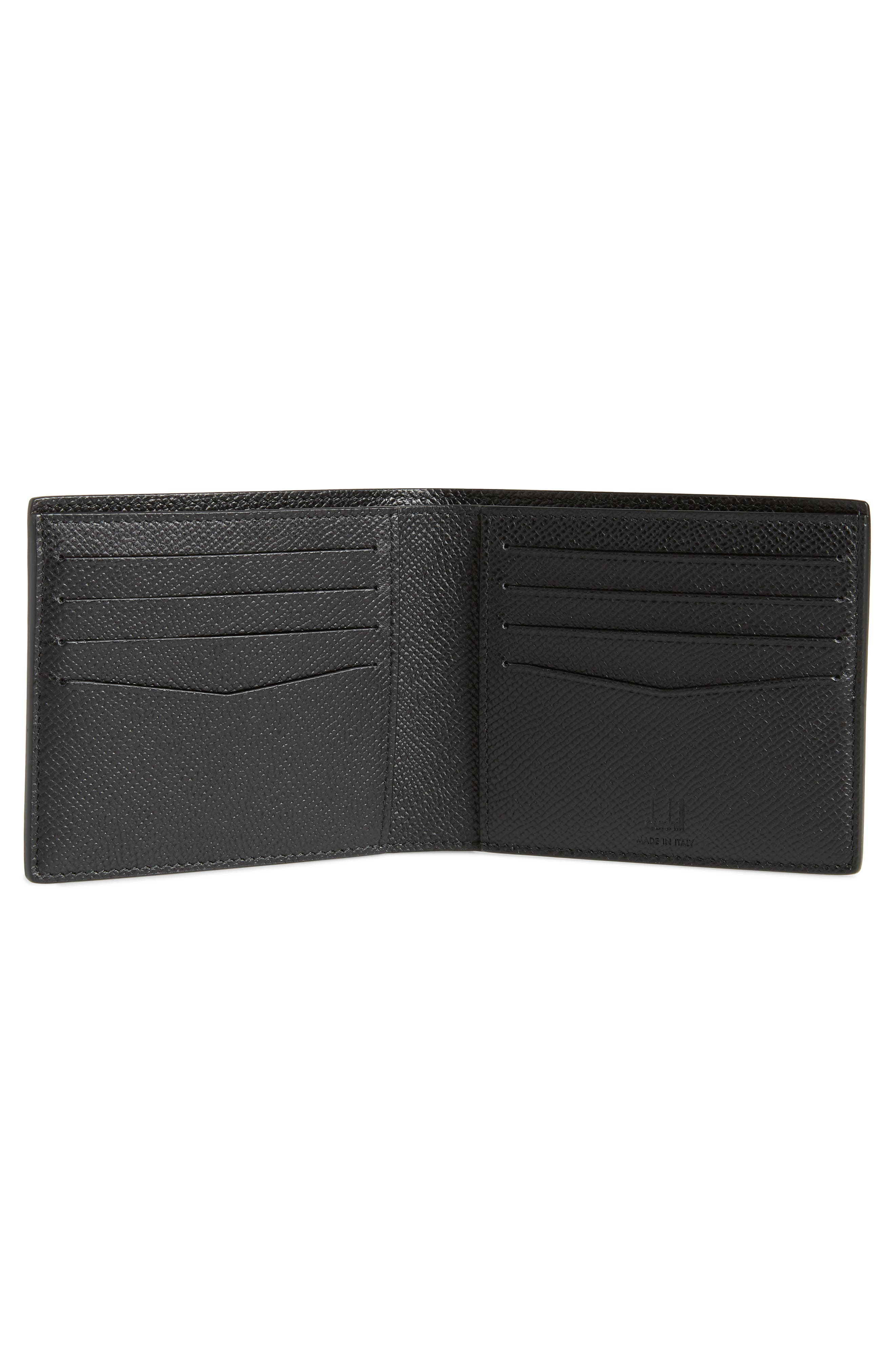 Cadogan Leather Wallet,                             Alternate thumbnail 2, color,                             BLACK