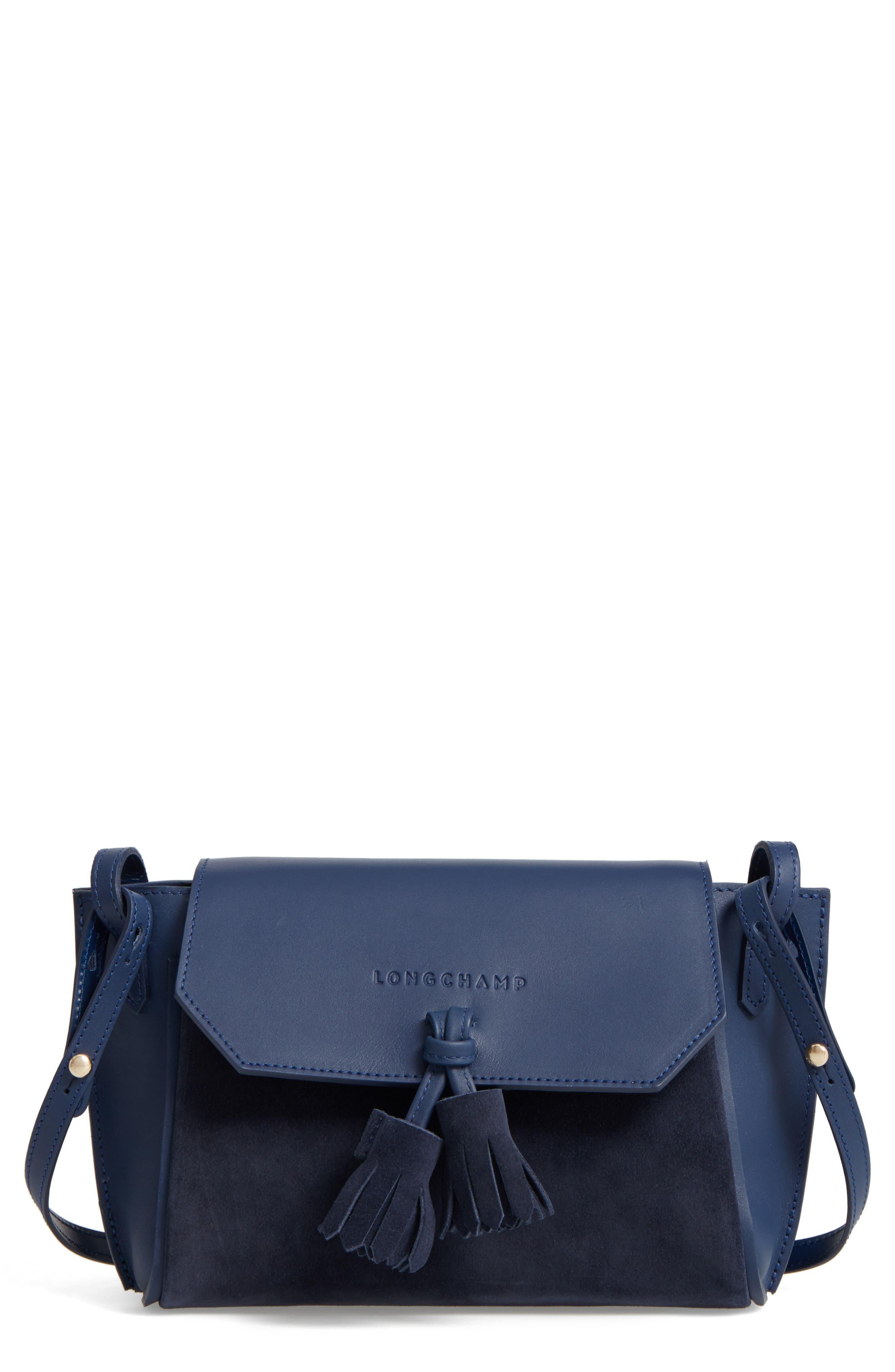 Small Penelope Leather Crossbody Bag,                             Main thumbnail 1, color,                             400