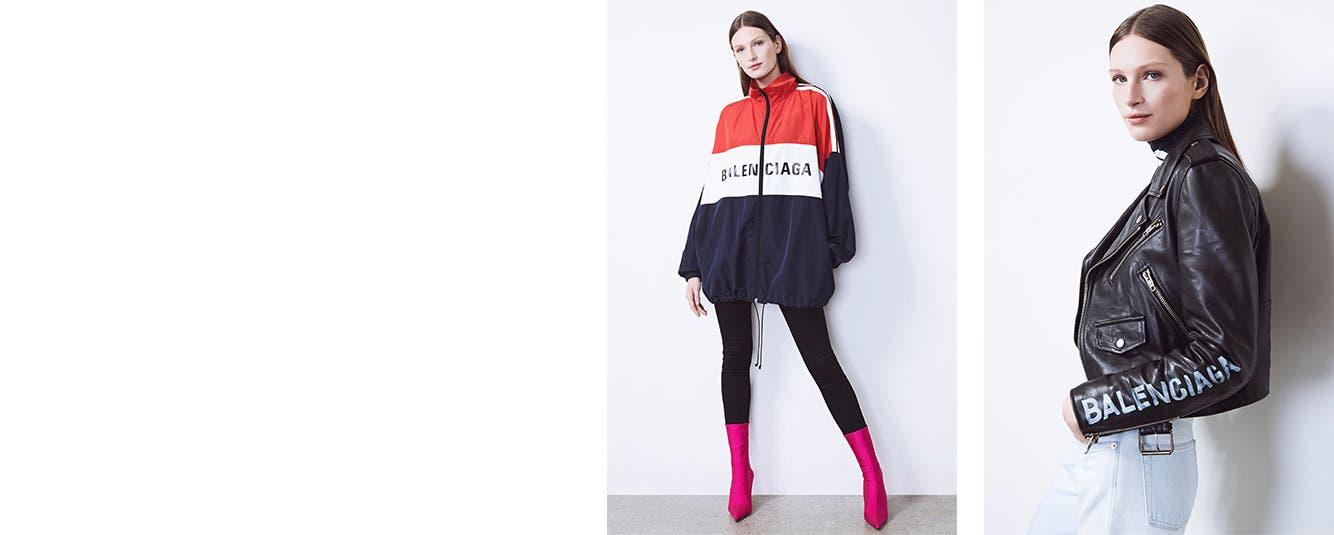 Online now: Balenciaga Ready-to-Wear.
