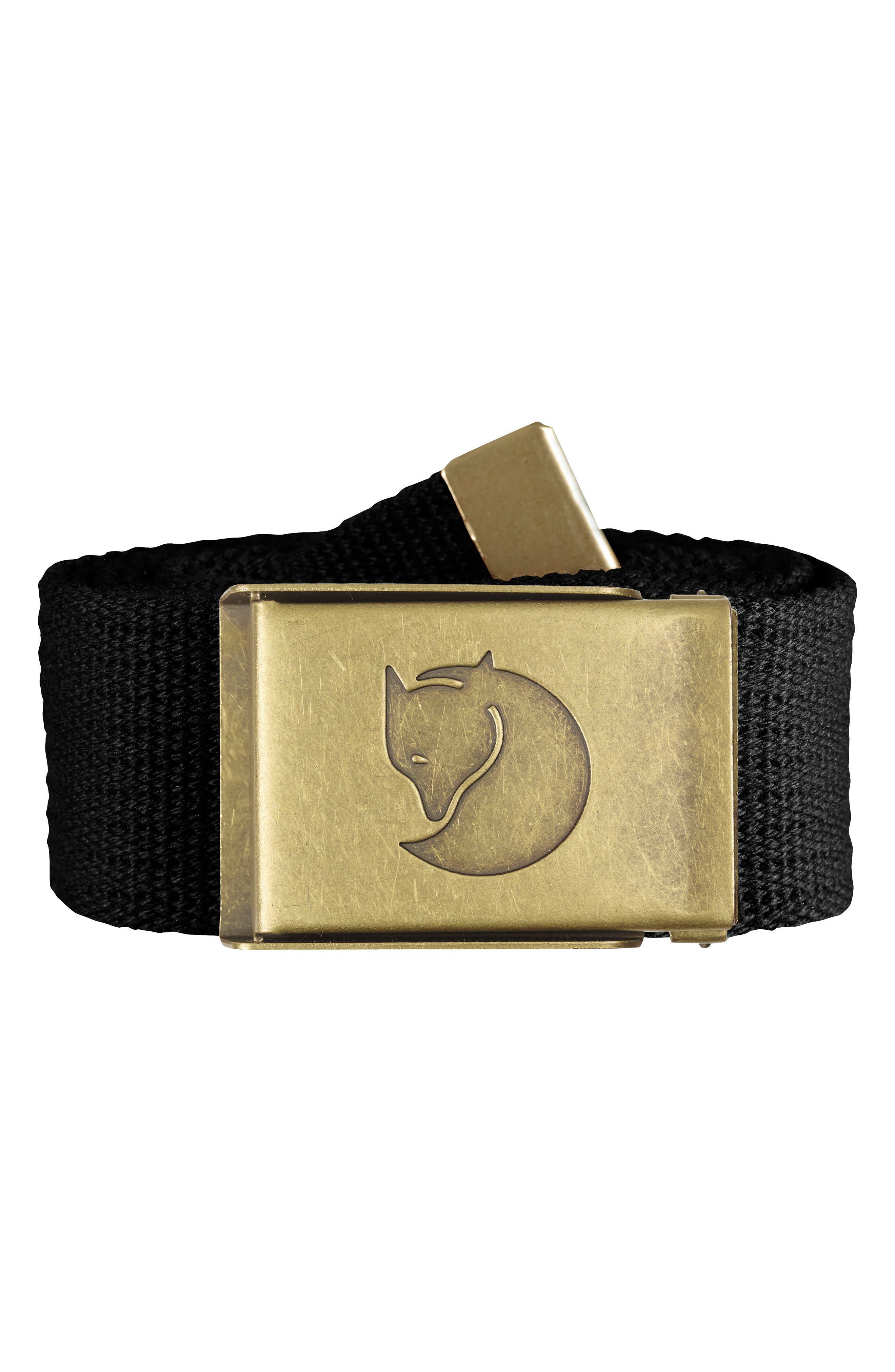 Webbed Belt,                         Main,                         color, BLACK